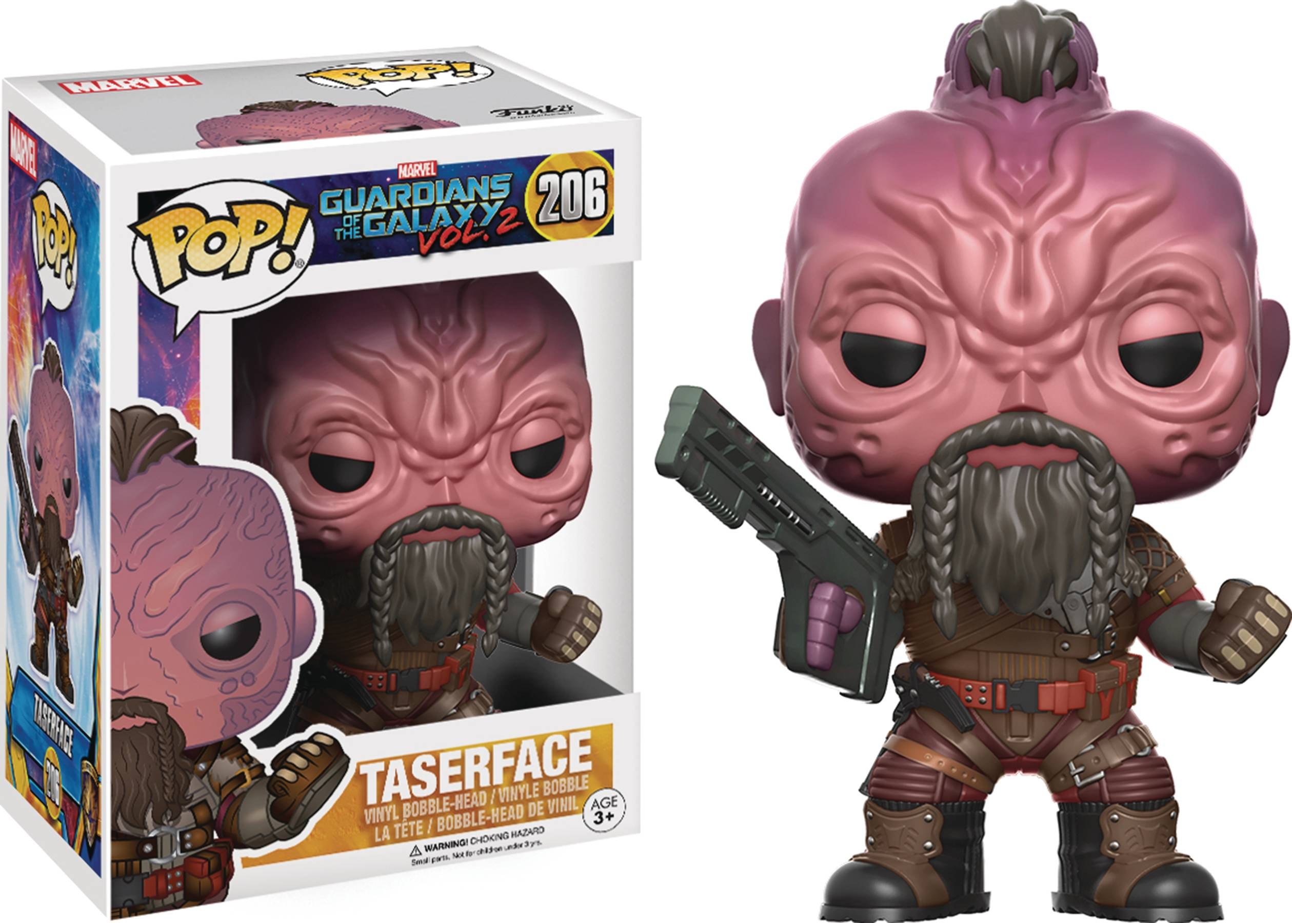 POP GUARDIANS OF THE GALAXY VOL2 TASERFACE VINYL FIG