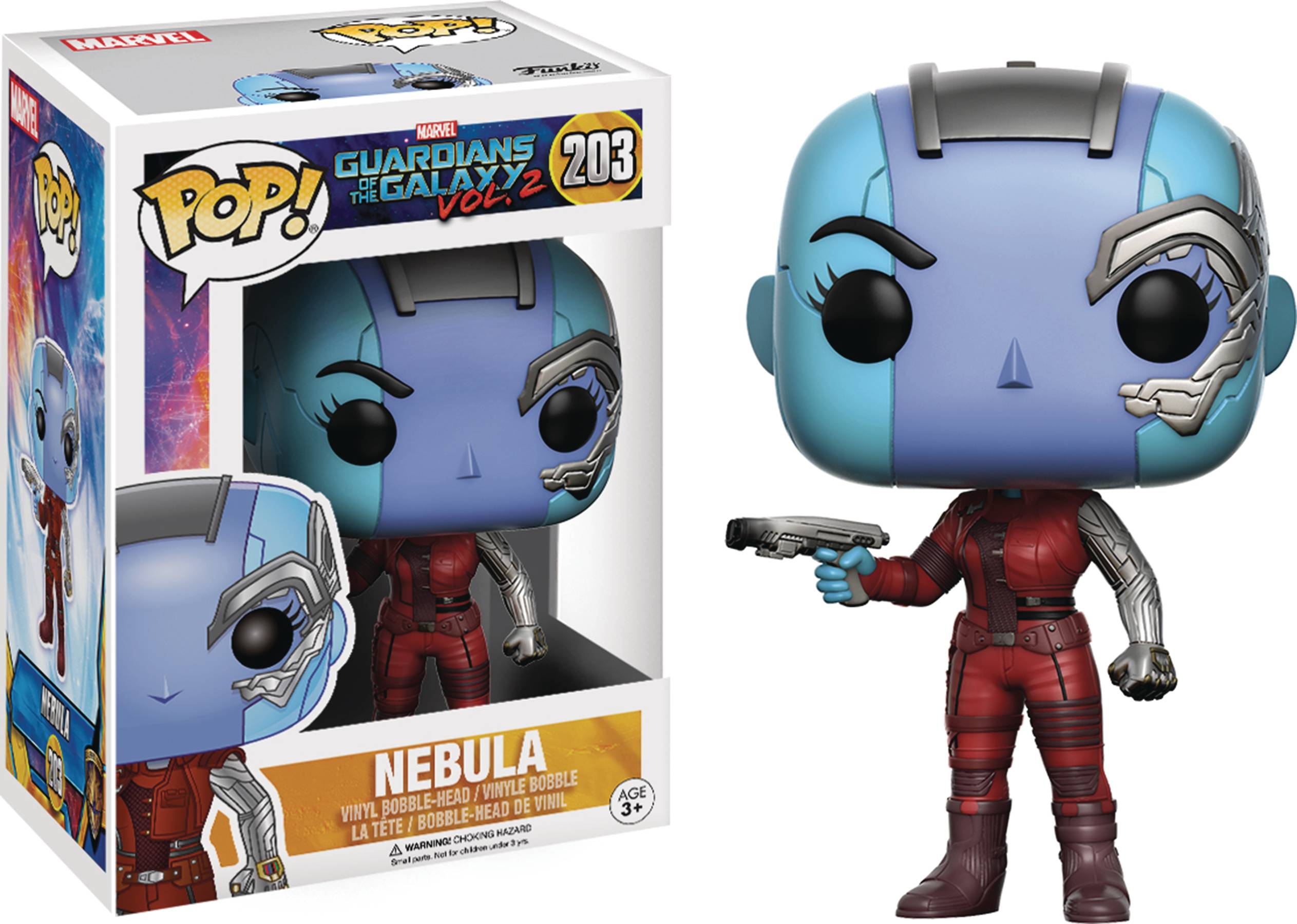 POP GUARDIANS OF THE GALAXY VOL2 NEBULA VINYL FIG