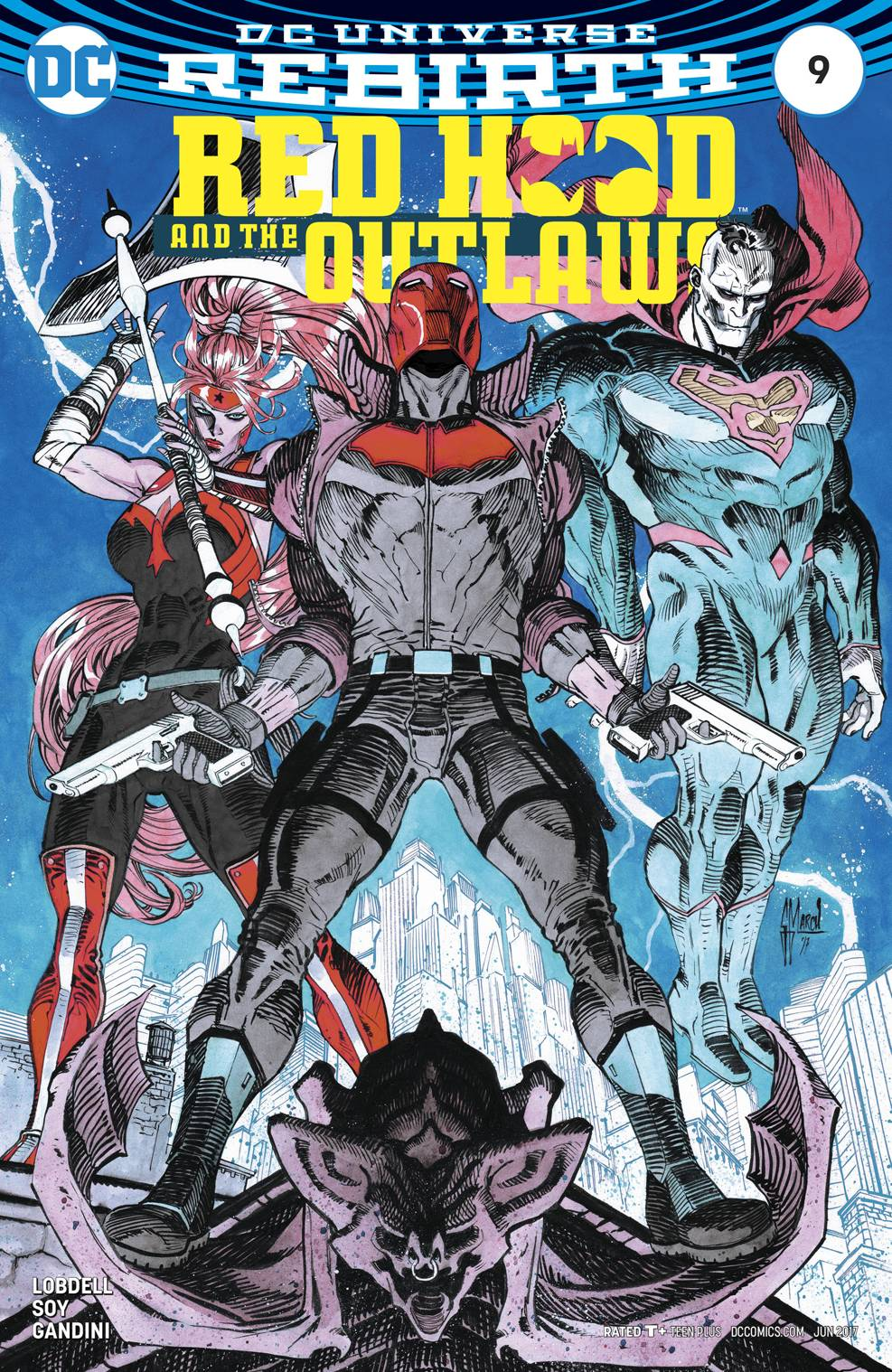 RED HOOD AND THE OUTLAWS #9 VAR ED