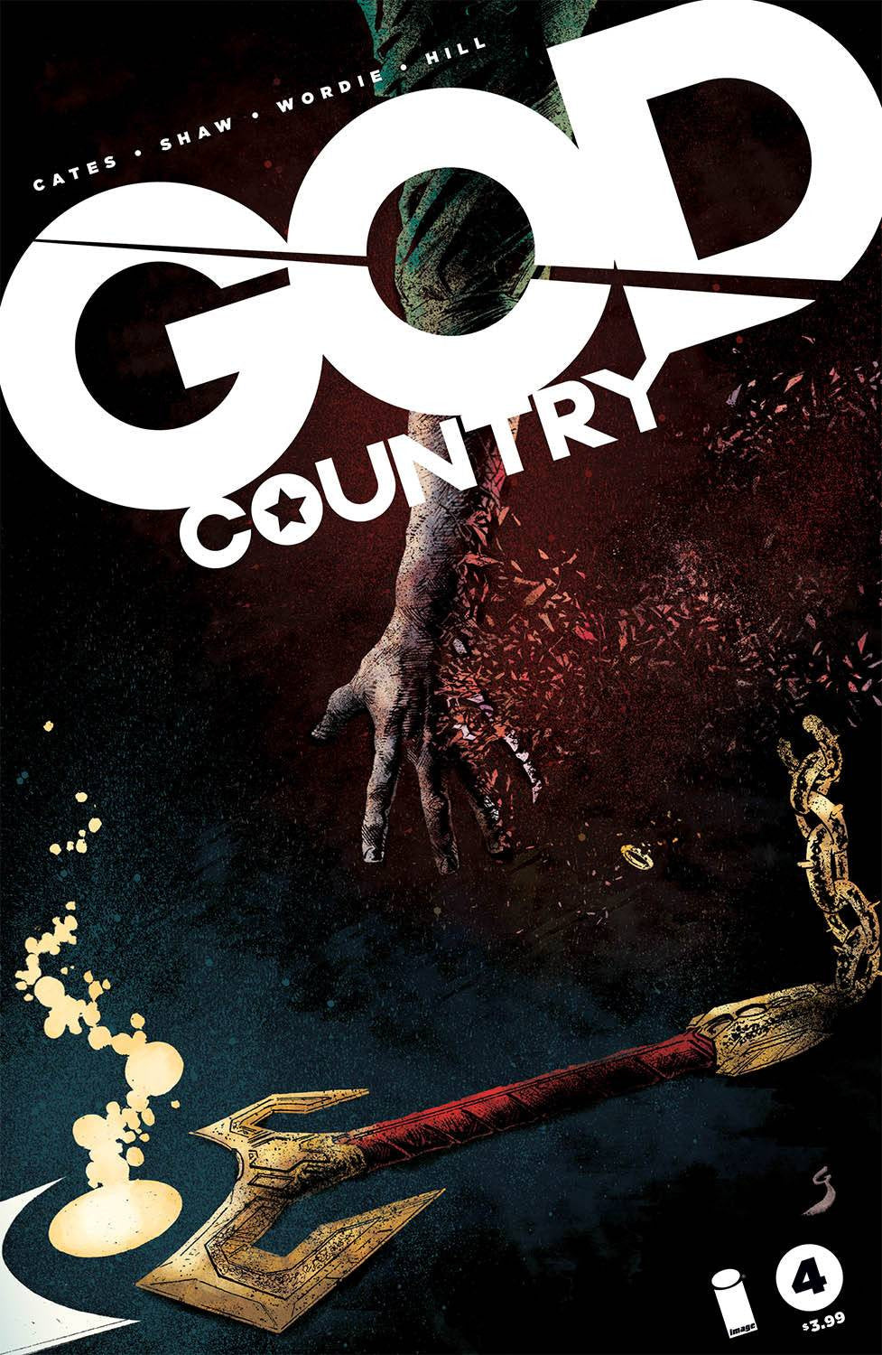 GOD COUNTRY #4 CVR A SHAW & WORDIE