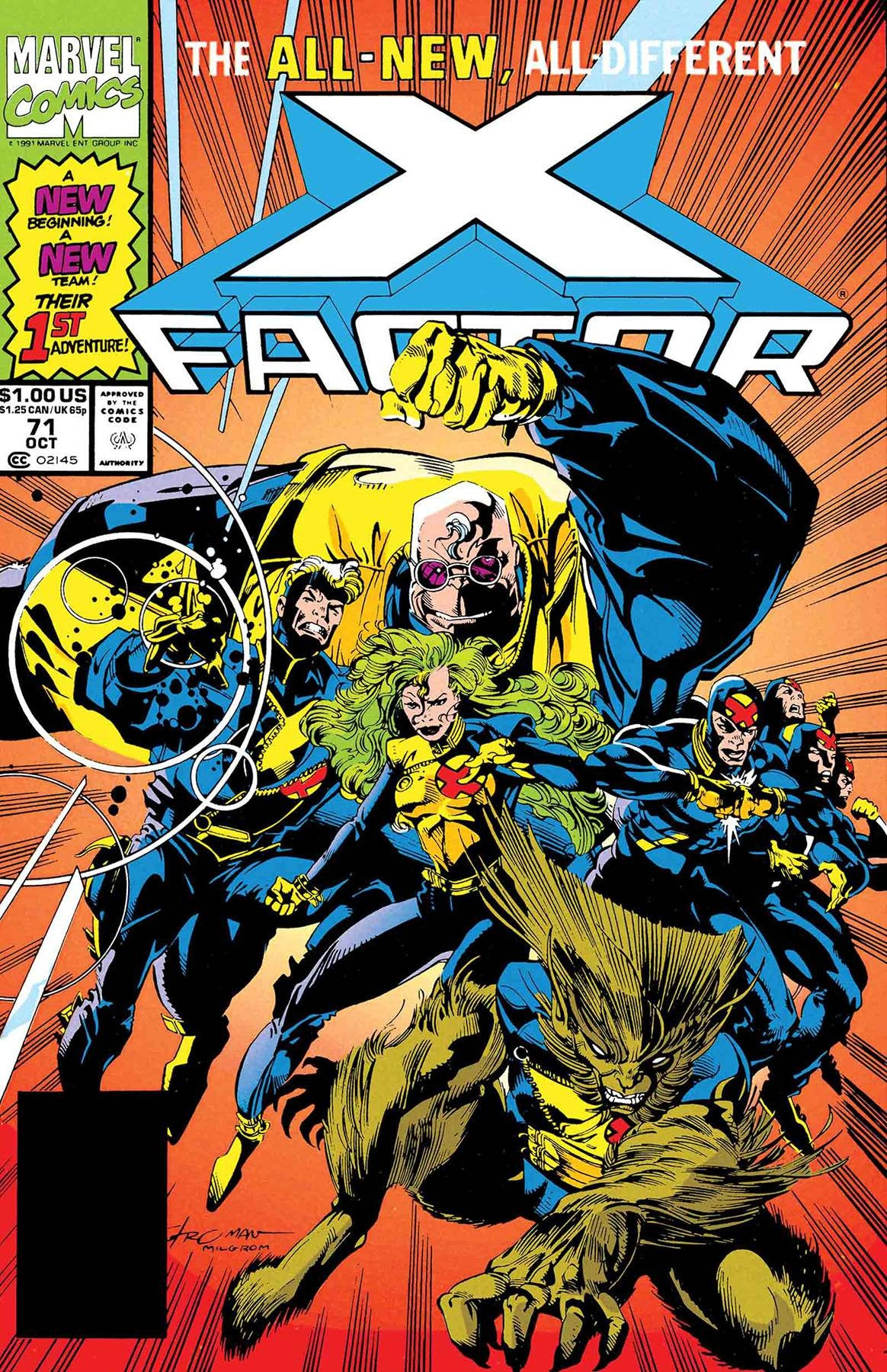 TRUE BELIEVERS X-FACTOR MUTANT GENESIS #1