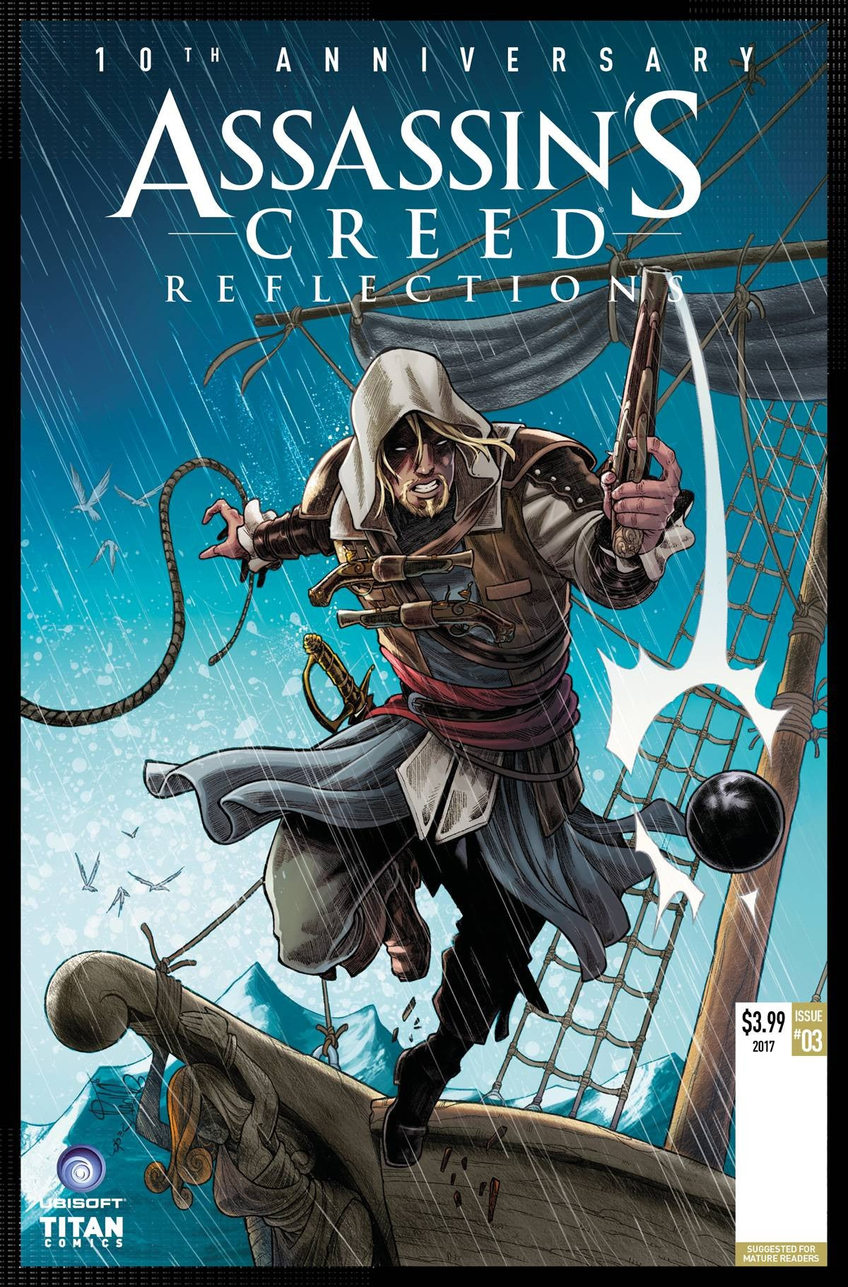 ASSASSINS CREED REFLECTIONS #3 (OF 4) CVR B ARRANZ