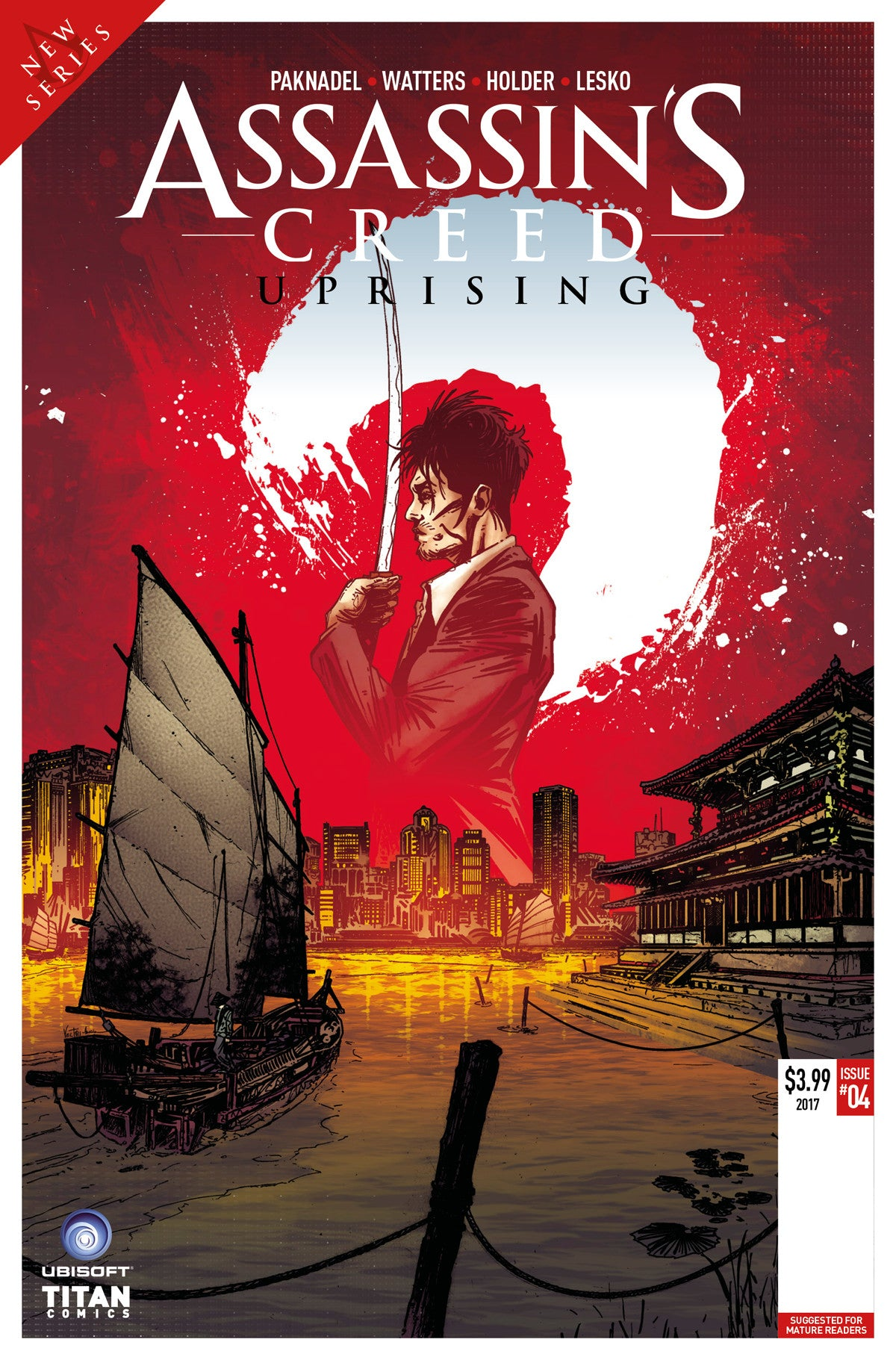 ASSASSINS CREED UPRISING #5 CVR B VELTRI