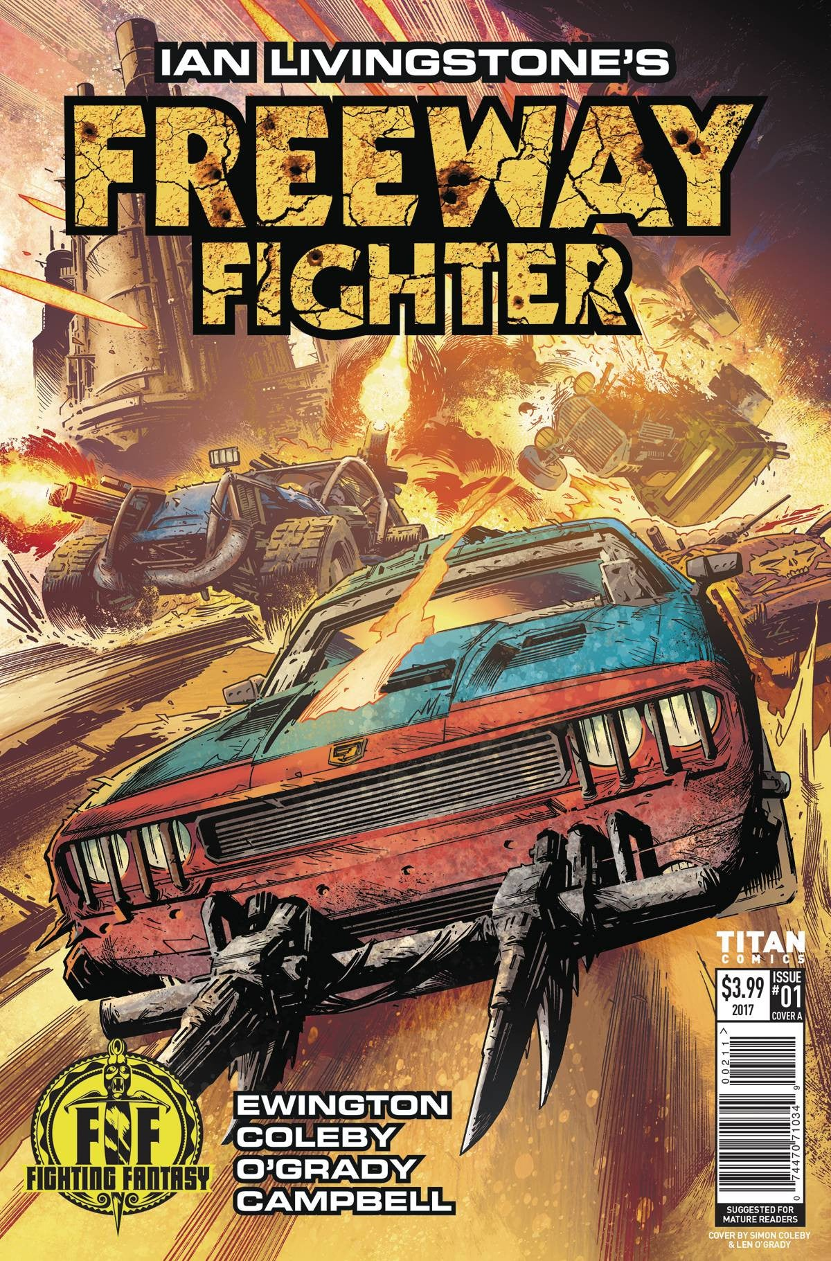 IAN LIVINGSTONES FREEWAY FIGHTER #1