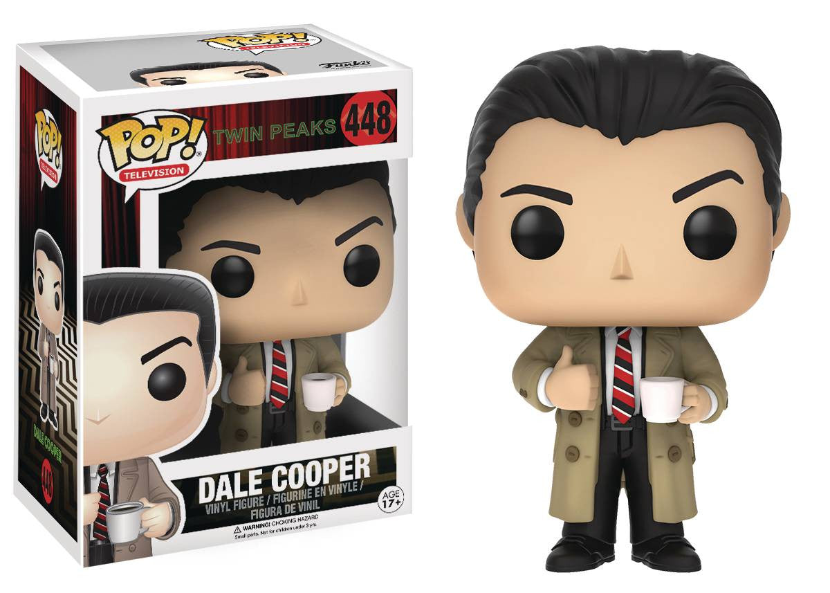 POP TWIN PEAKS AGENT COOPER VINYL FIG