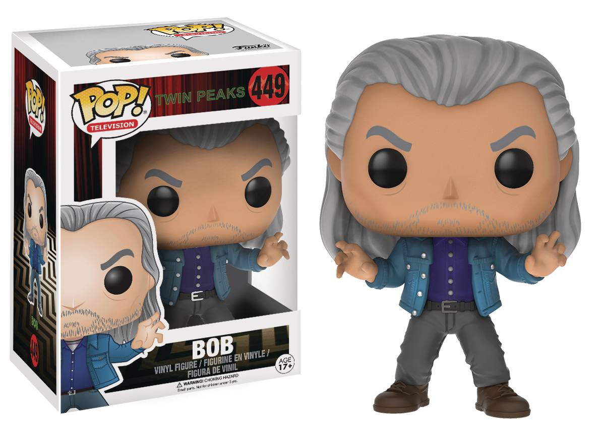 POP TWIN PEAKS BOB VINYL FIG