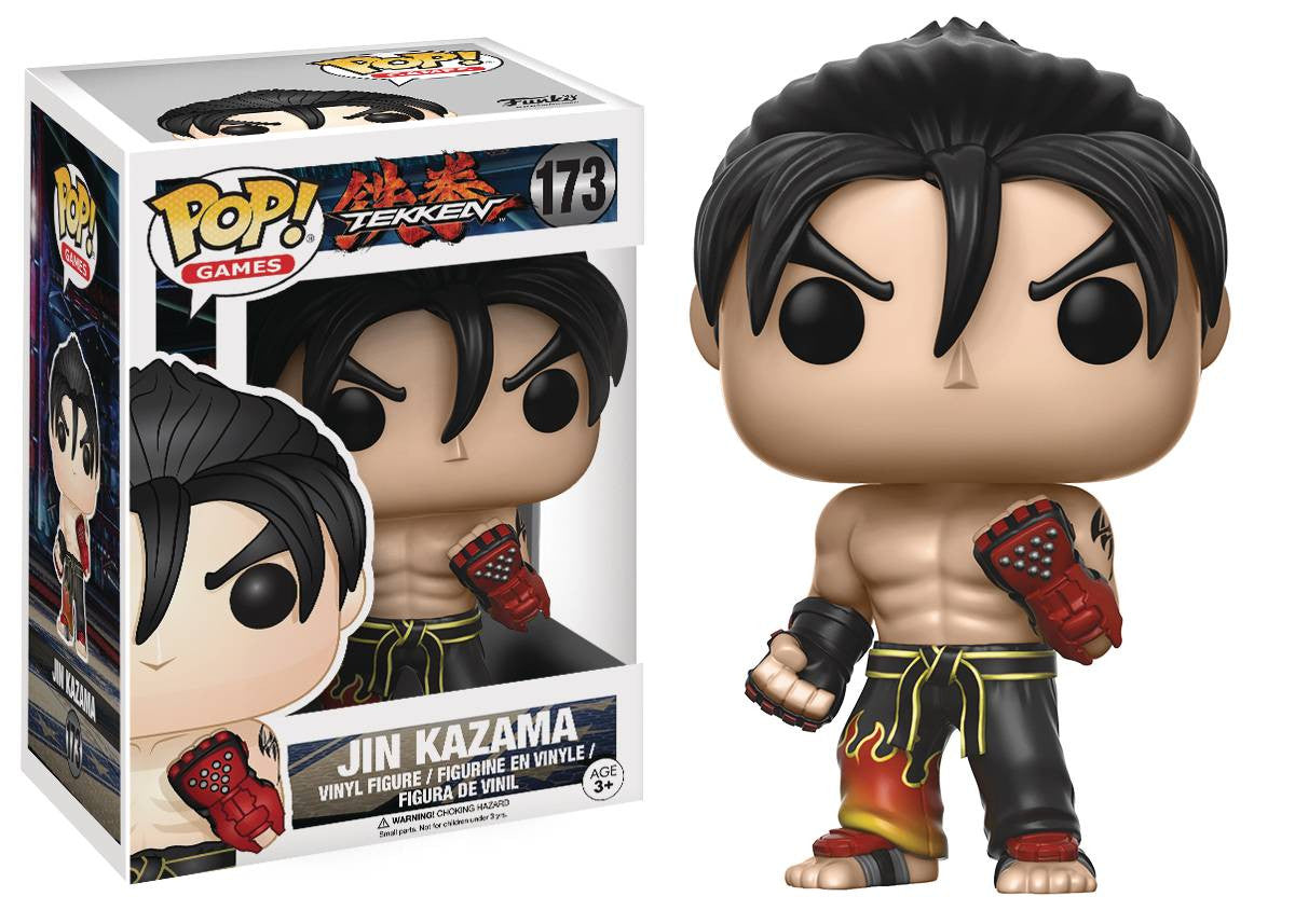 POP TEKKEN JIN VINYL FIG