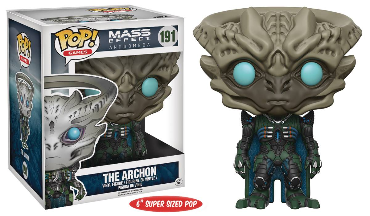 POP MASS EFFECT ANDROMEDA ARCHON 6IN VINYL FIG