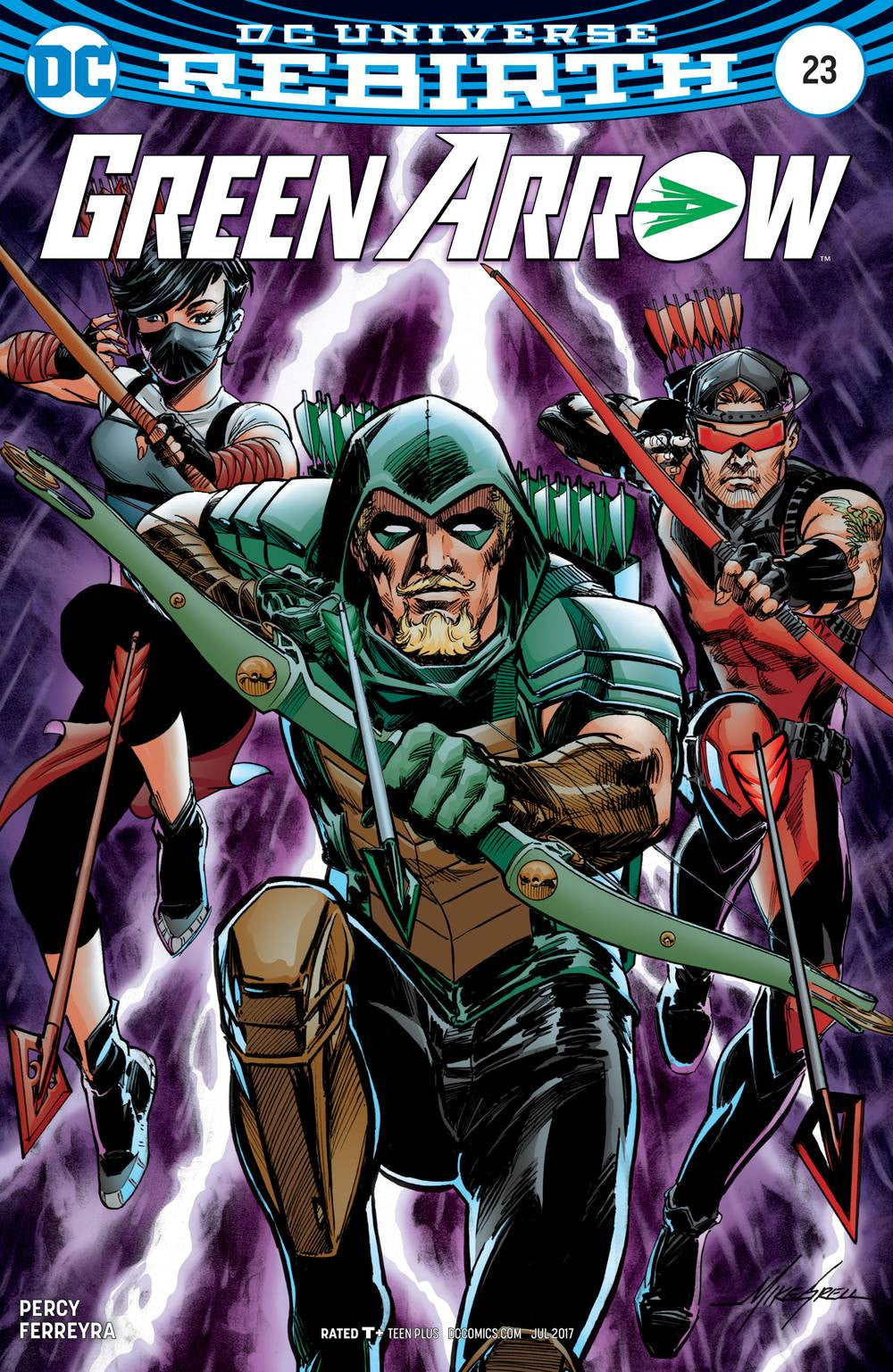 GREEN ARROW #23 VAR ED