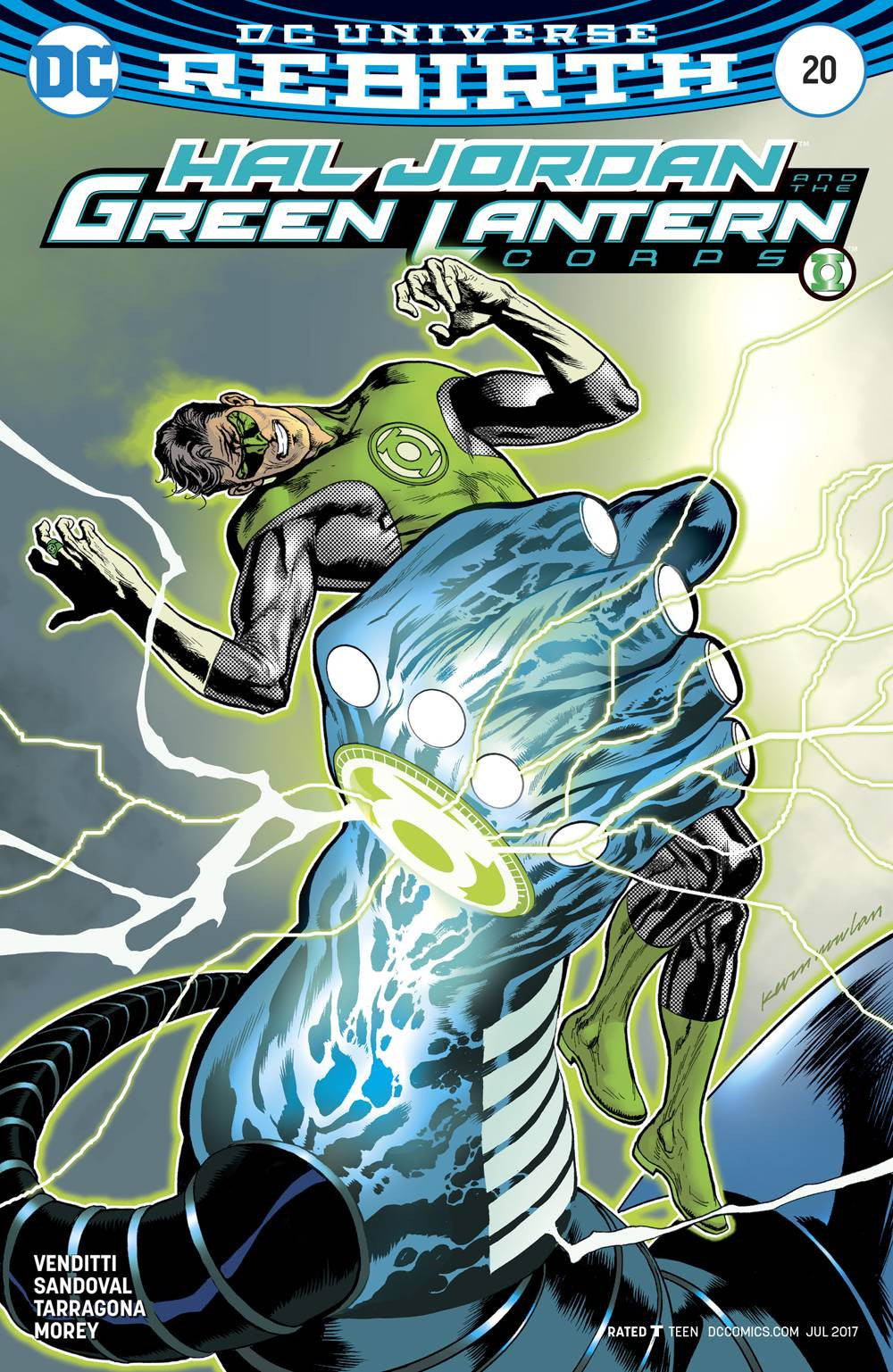 HAL JORDAN AND THE GREEN LANTERN CORPS #20 VAR ED