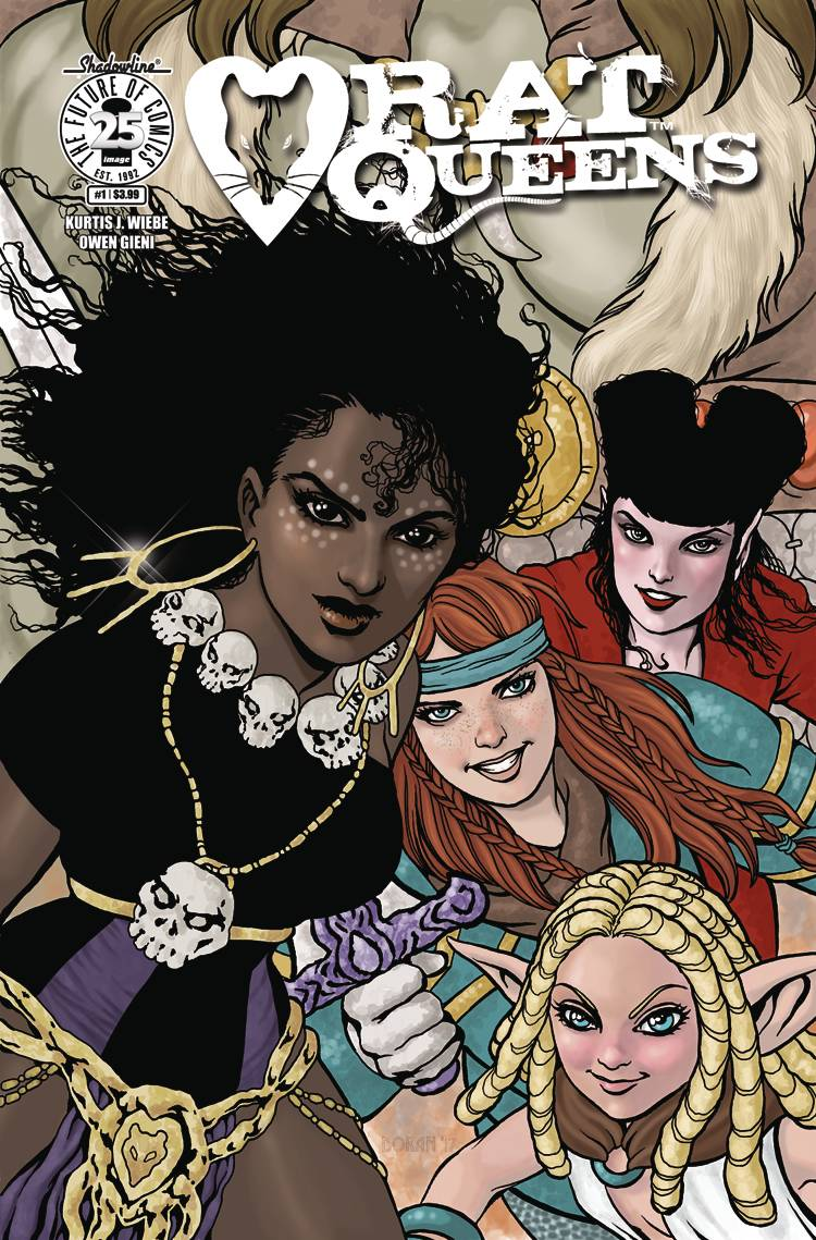 RAT QUEENS #1 CVR C WOMENS HISTORY MONTH CHARITY VAR