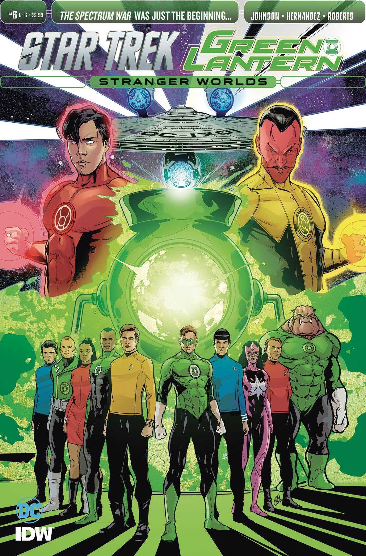 STAR TREK GREEN LANTERN VOL 2 #6
