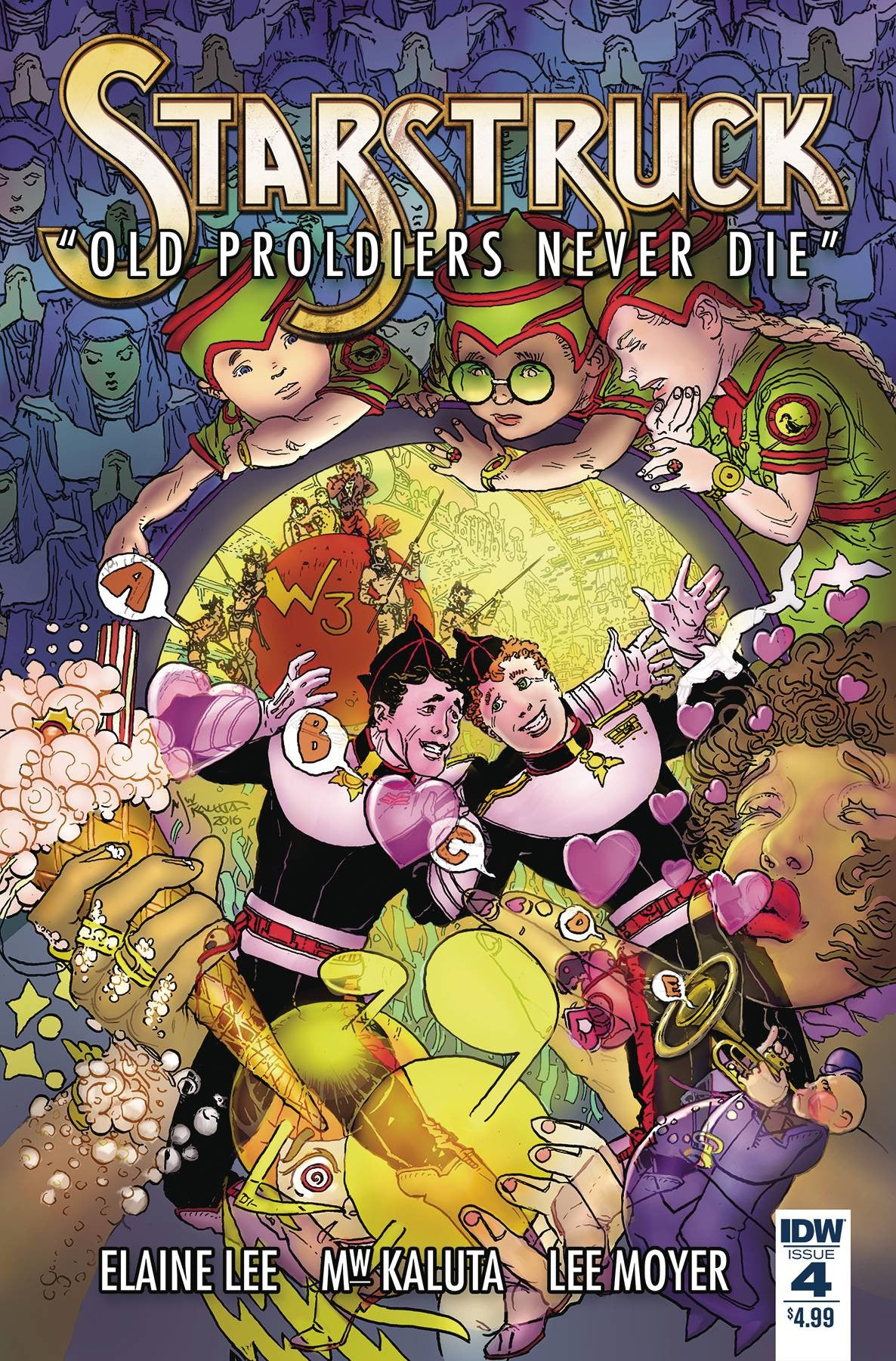 STARSTRUCK OLD PROLDIERS NEVER DIE #4