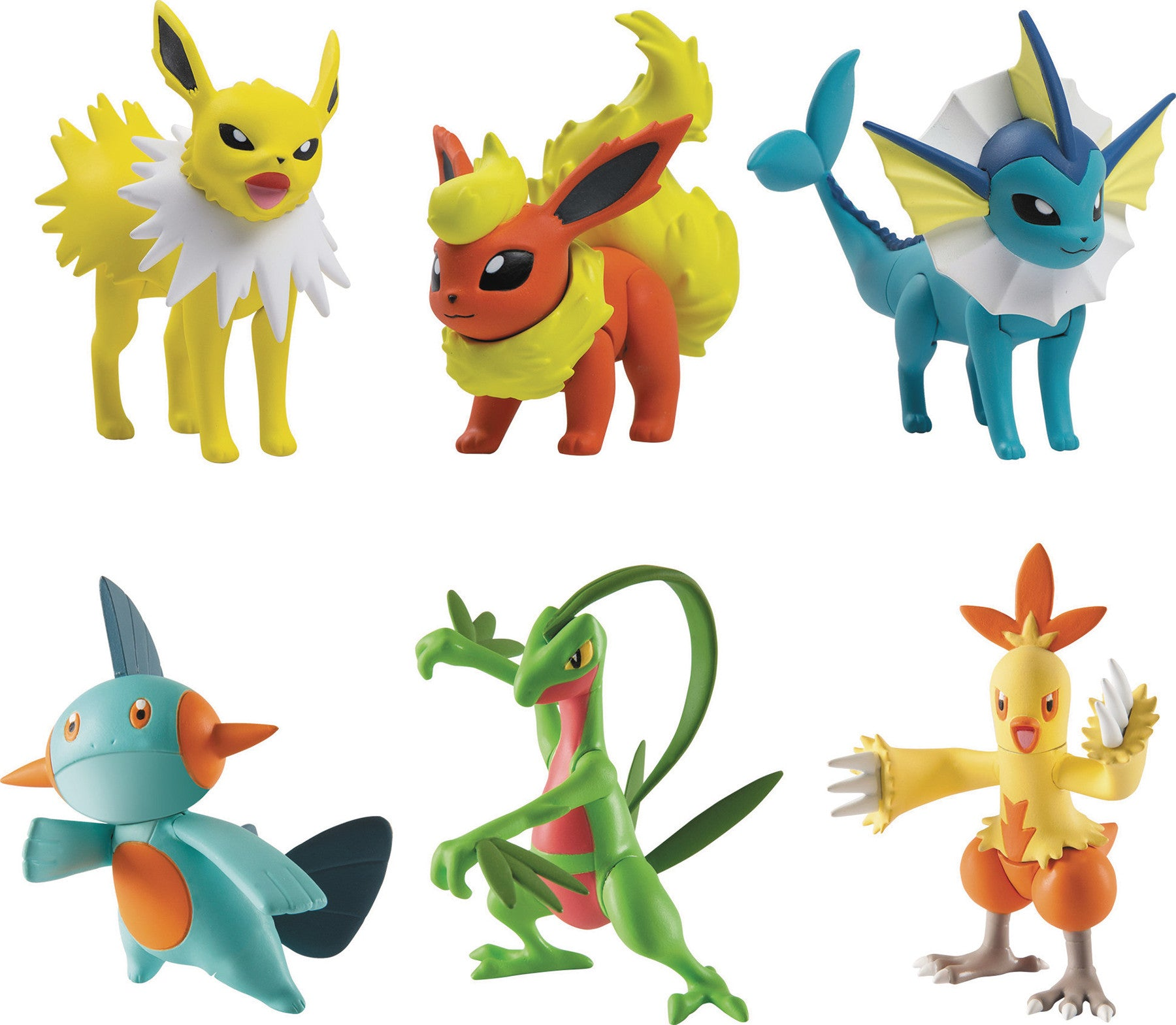 POKEMON ACTION POSE 3PK FIG ASST