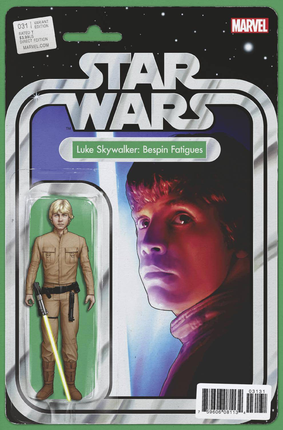 STAR WARS #31 CHRISTOPHER ACTION FIGURE VAR