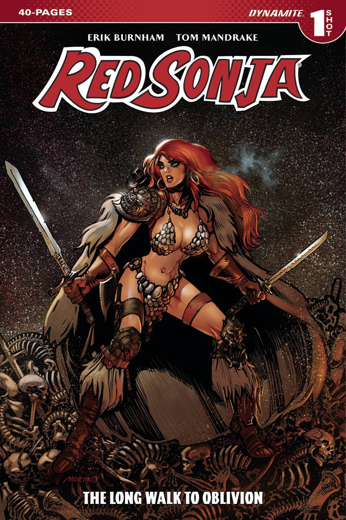 RED SONJA LONG WALK TO OBLIVION ONE SHOT