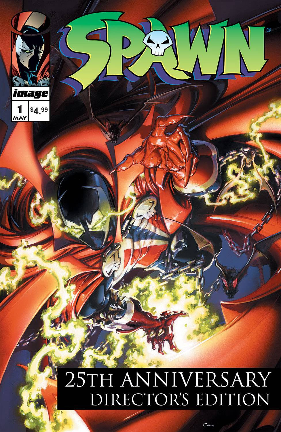 SPAWN #1 25TH ANNIVERSARY DIRECTORS CUT CVR B CRAIN