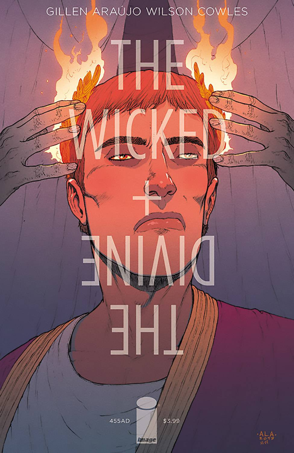 WICKED & DIVINE 455 AD #1 (ONE-SHOT) CVR B ARAUJO