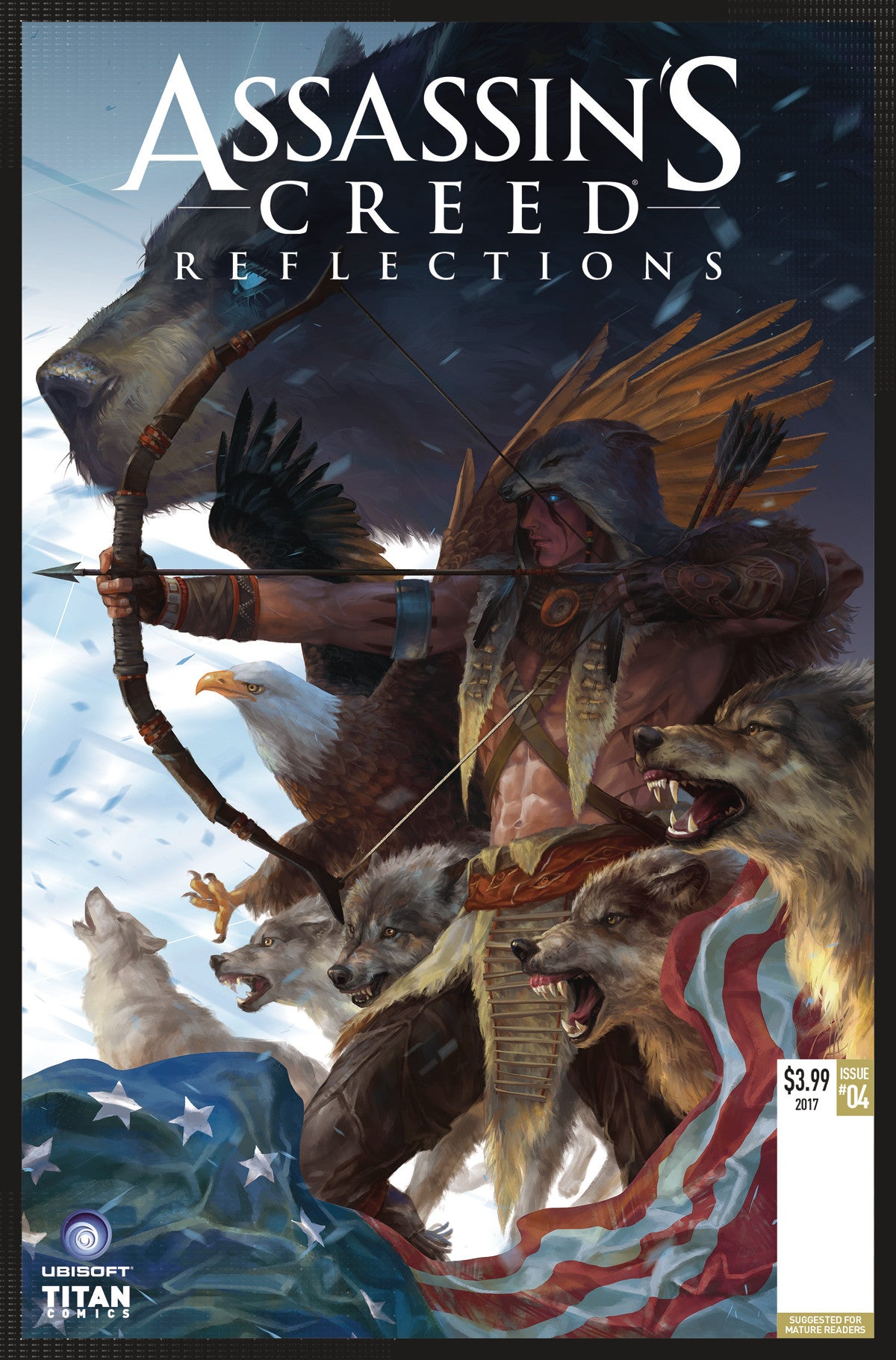 ASSASSINS CREED REFLECTIONS #4 (OF 4) CVR A SUNSETAGAIN