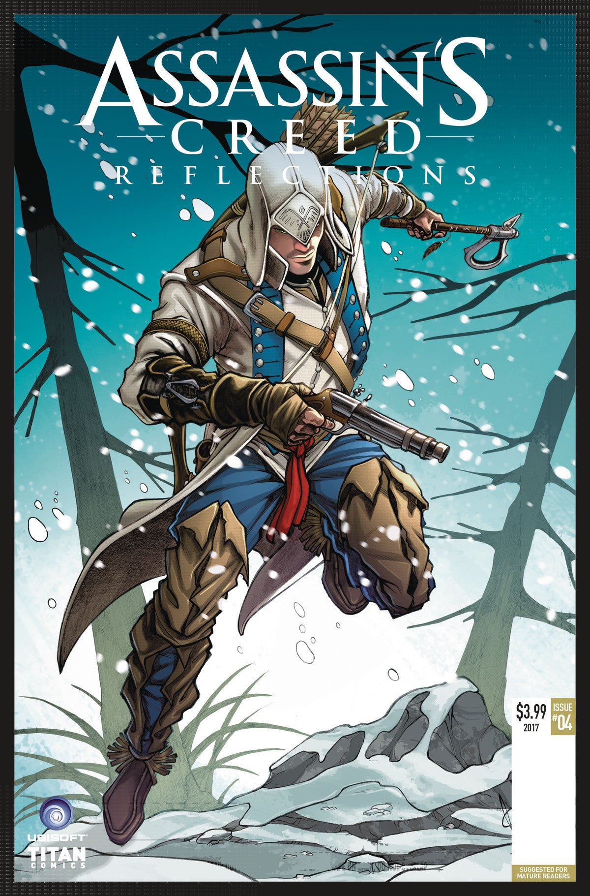 ASSASSINS CREED REFLECTIONS #4 (OF 4) CVR B NACHO