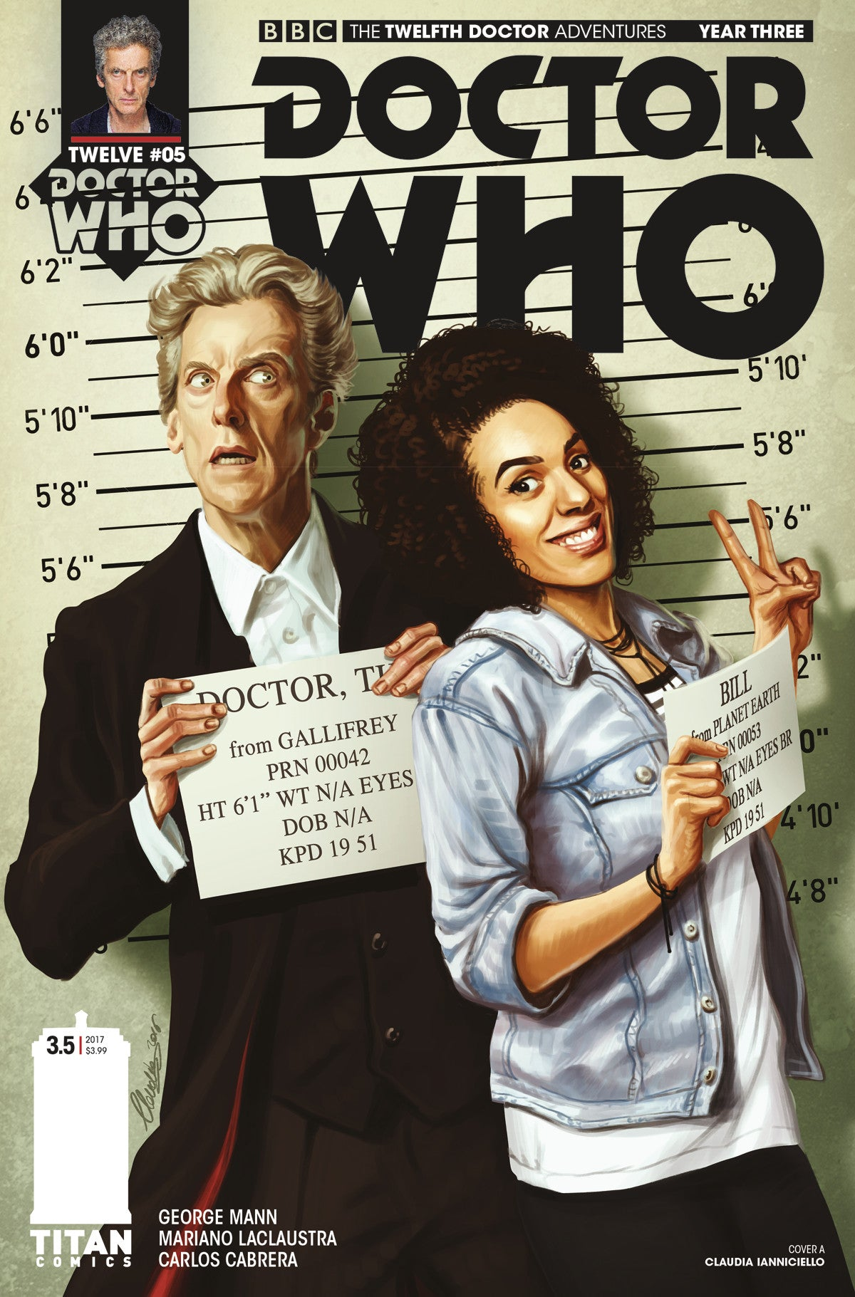 DOCTOR WHO 12TH YEAR THREE #5 CVR A IANNICELLO