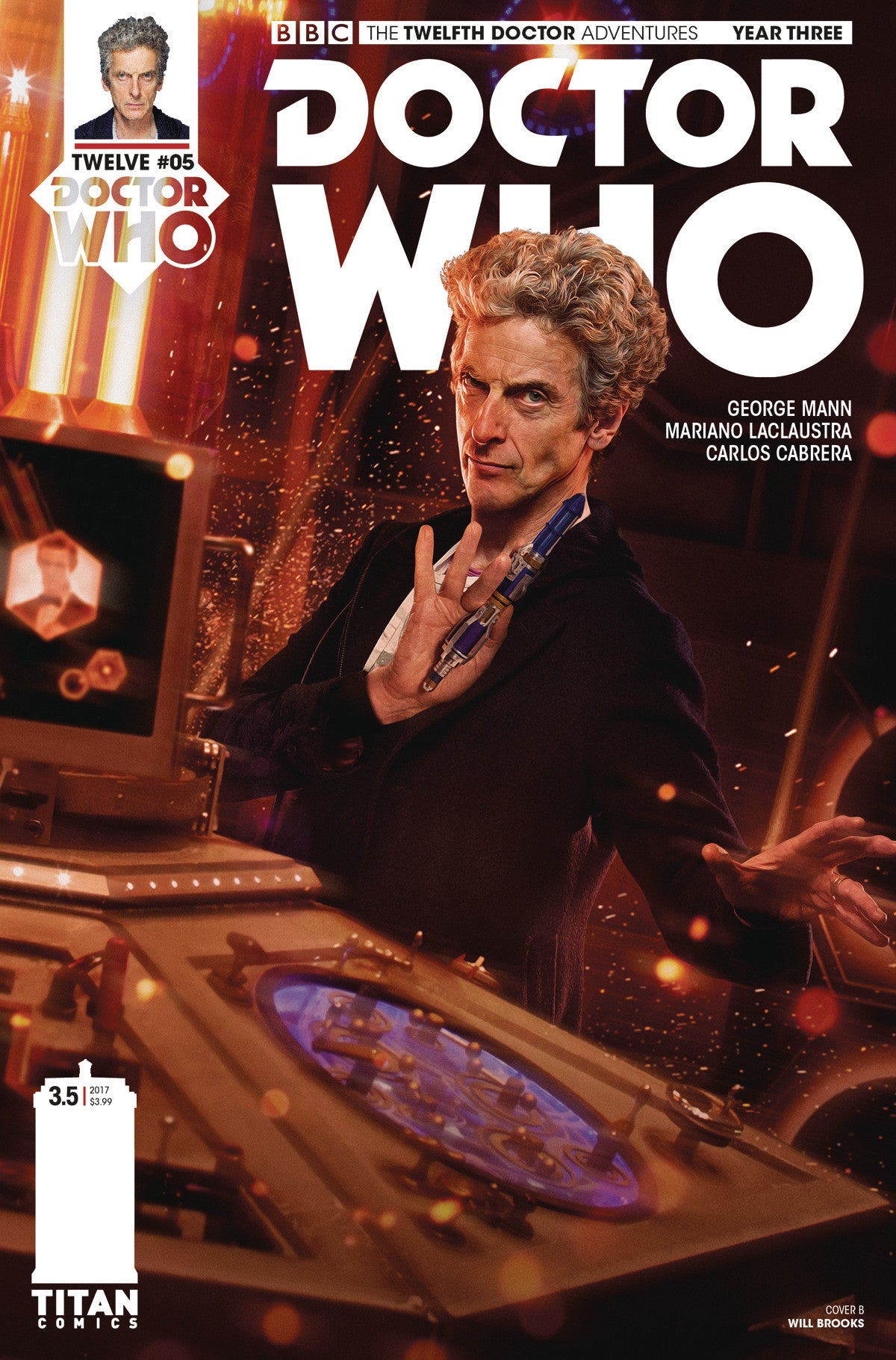 DOCTOR WHO 12TH YEAR THREE #5 CVR B BROOKS