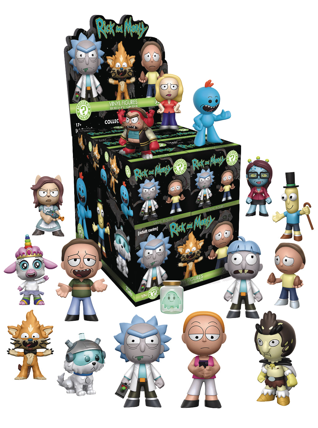 MYSTERY MINIS RICK AND MORTY SER 1 12PC BMB DISP