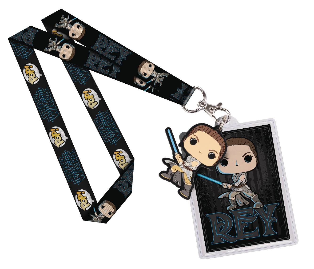 POP STAR WARS REY LANYARD