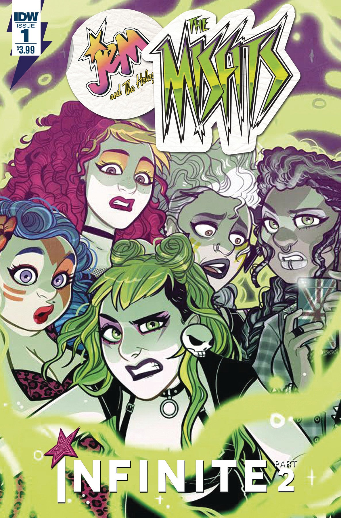 JEM & THE HOLOGRAMS MISFITS INFINITE #1