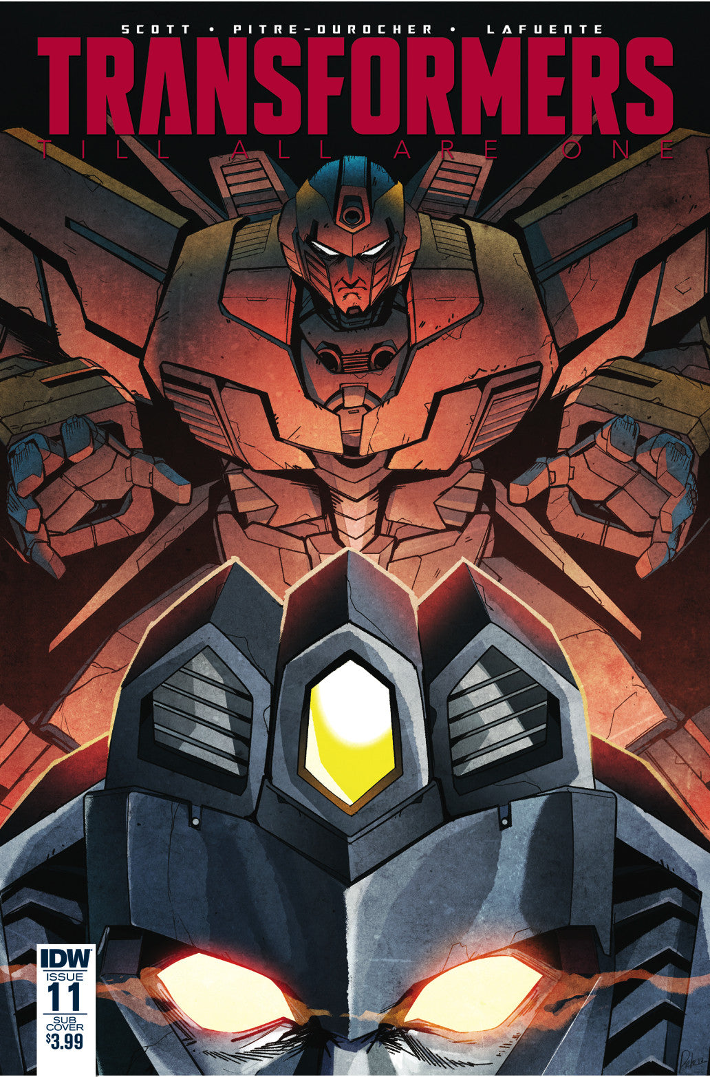 TRANSFORMERS TILL ALL ARE ONE #11 SUBSCRIPTION VAR