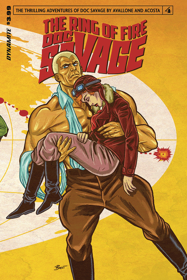 DOC SAVAGE RING OF FIRE #4