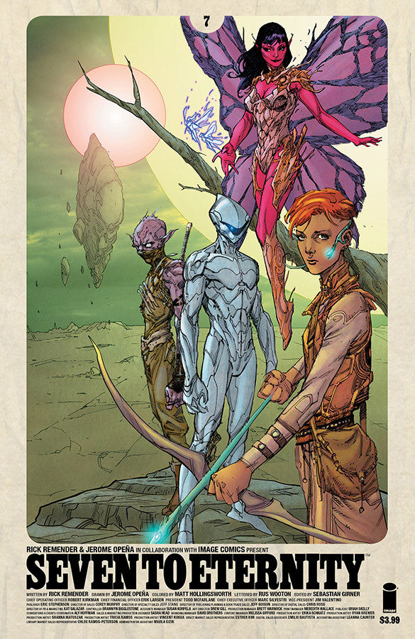 SEVEN TO ETERNITY #7 CVR B OPENA & HOLLINGSWORTH