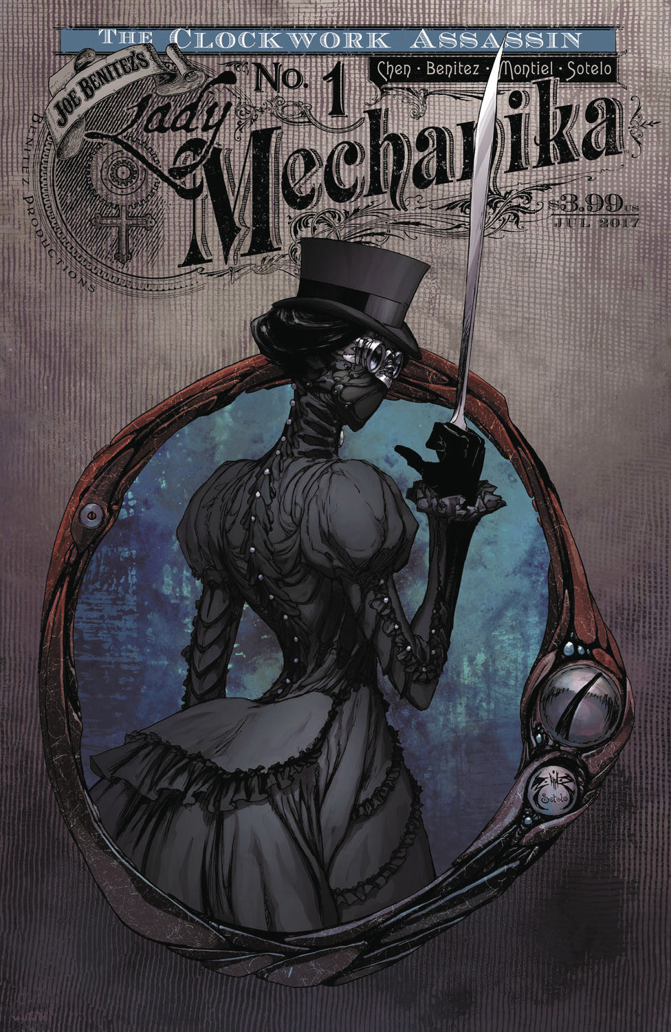 LADY MECHANIKA CLOCKWORK ASSASSIN #1