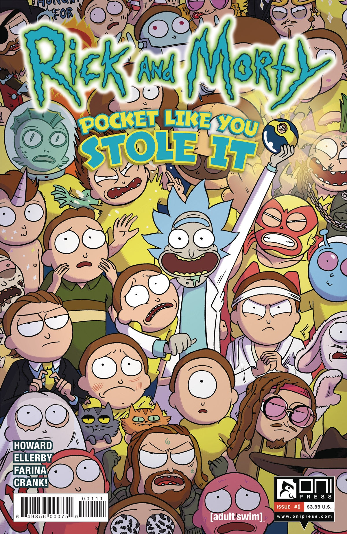 RICK & MORTY POCKET LIKE YOU STOLE IT #1