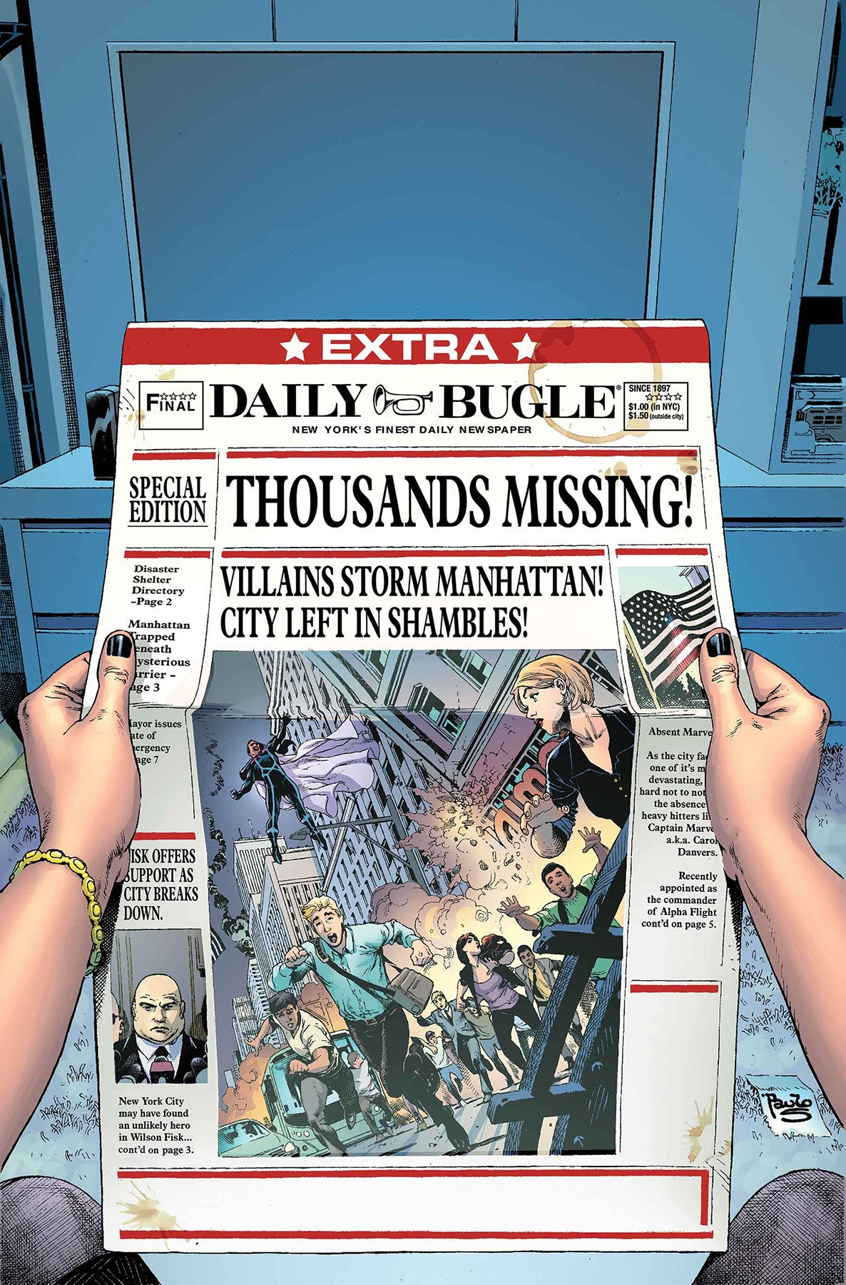 SECRET EMPIRE BRAVE NEW WORLD #3