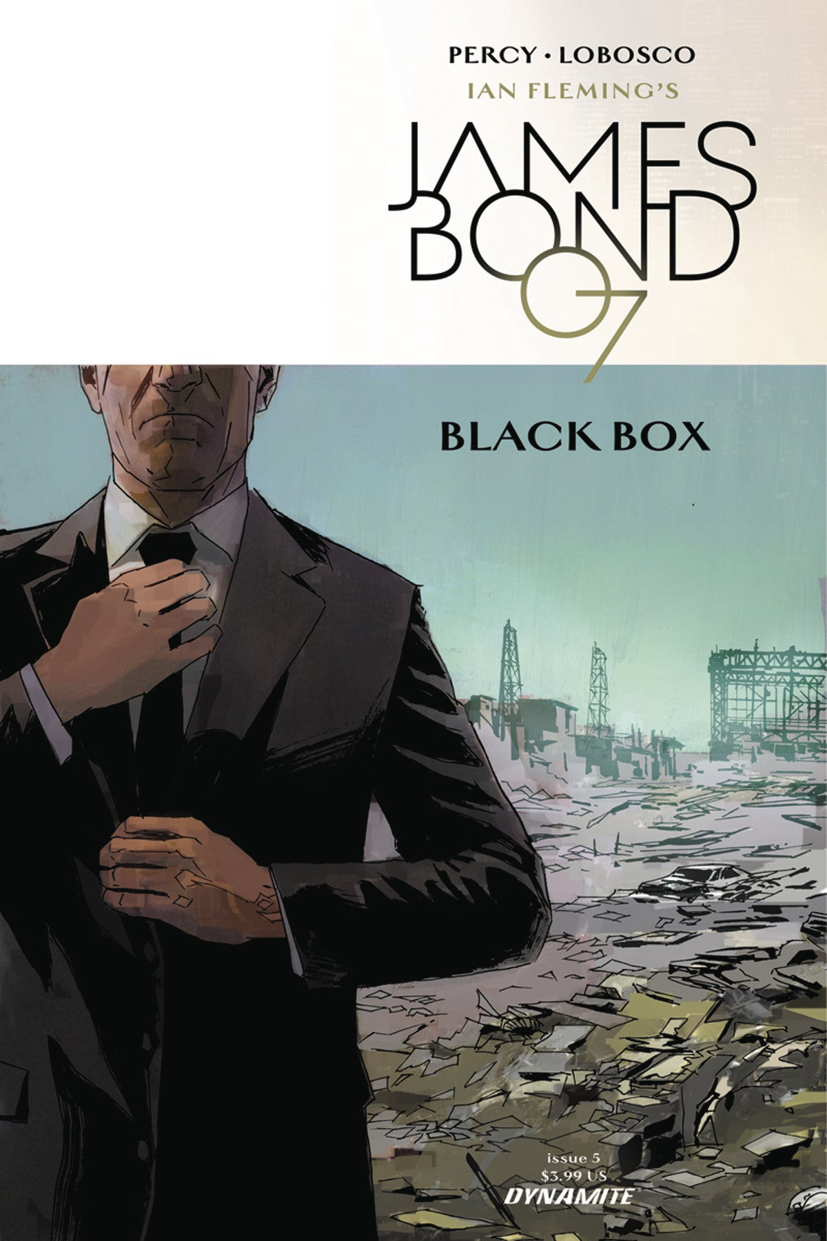 JAMES BOND #5 CVR A REARDON
