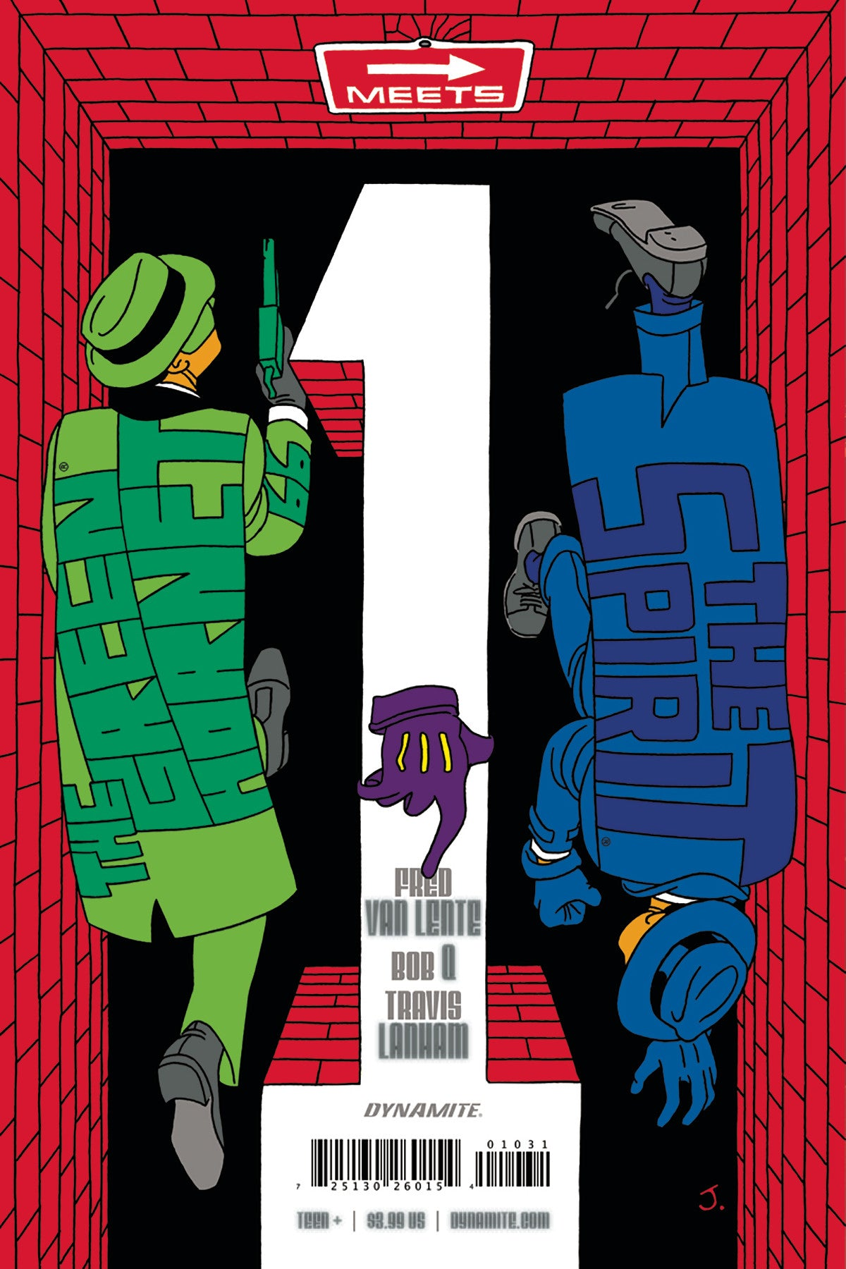GREEN HORNET 66 MEETS SPIRIT #1