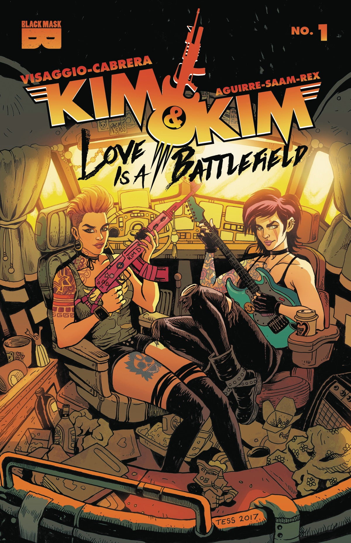 KIM AND KIM LOVE IS A BATTLEFIELD #1