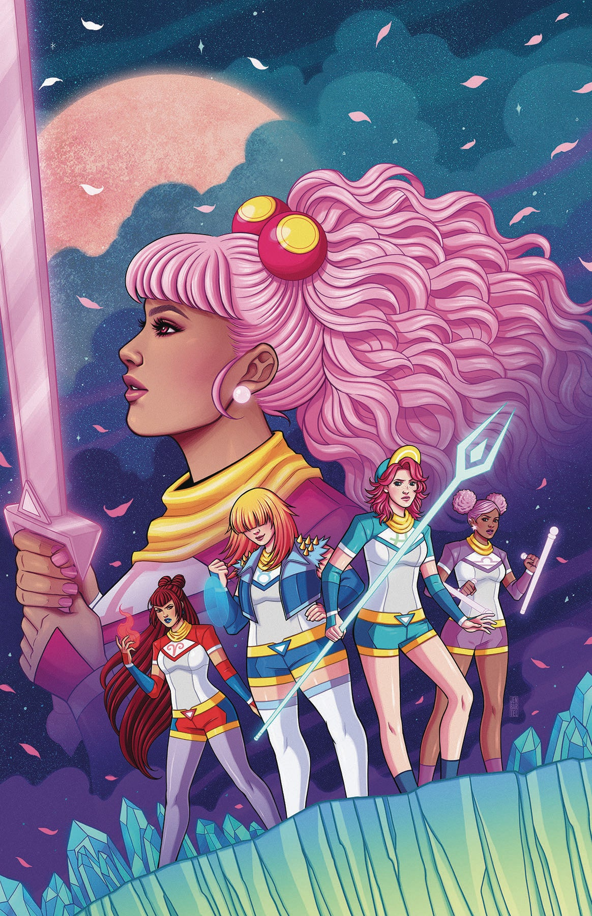 ZODIAC STARFORCE CRIES OF FIRE PRINCE #1 BARTEL VAR