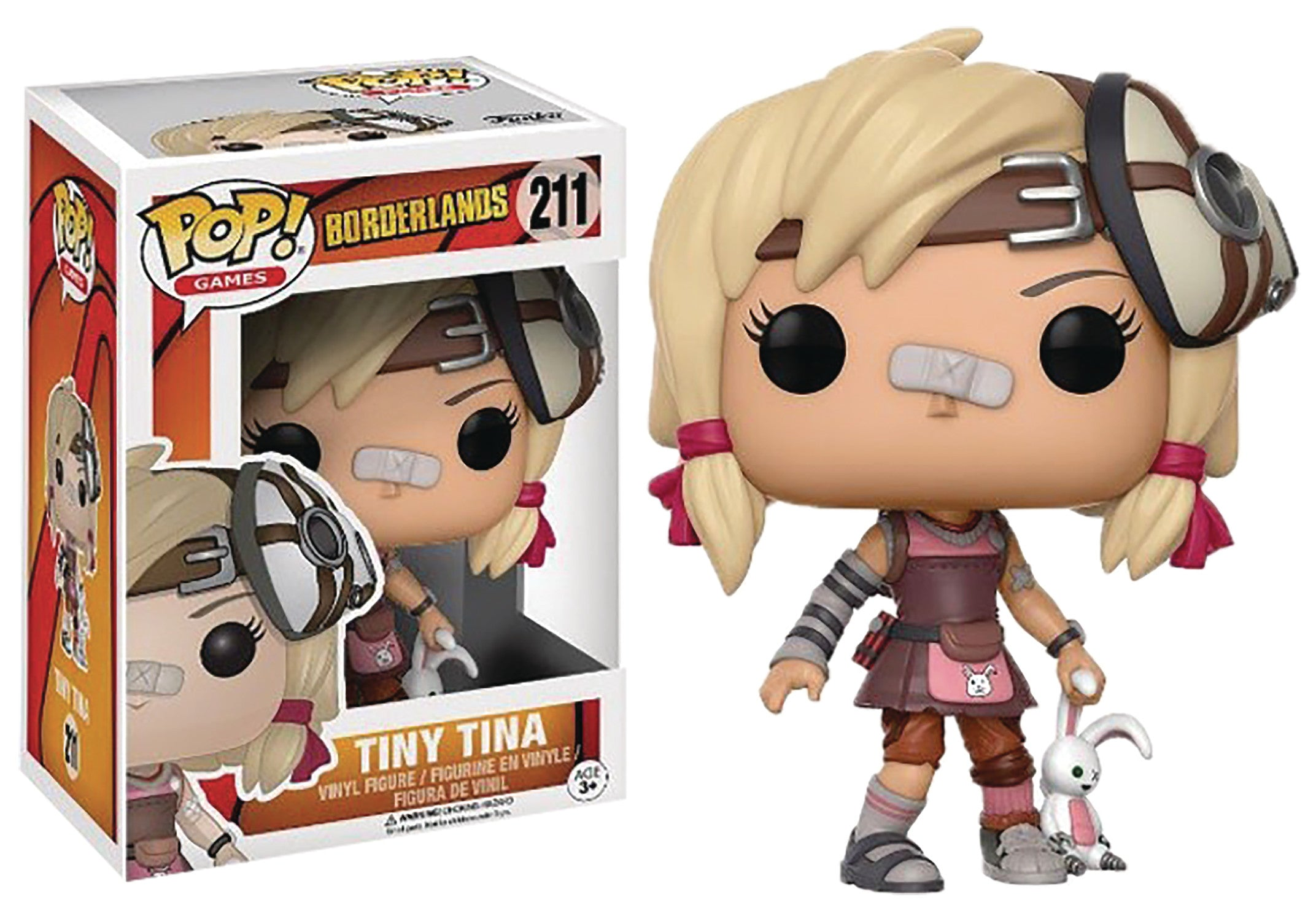 POP BORDERLANDS TINY TINA VINYL FIG