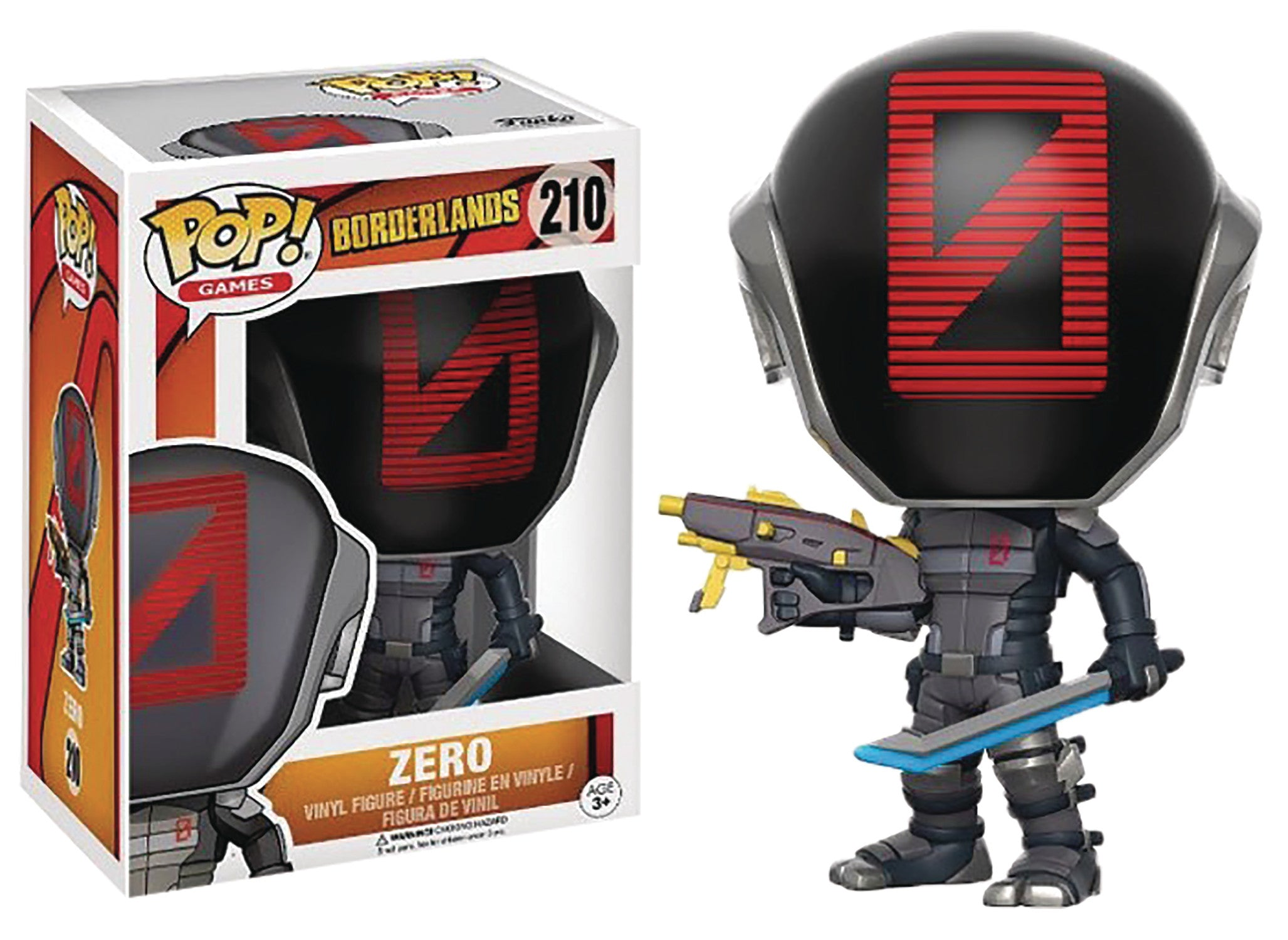 POP BORDERLANDS ZERO VINYL FIG