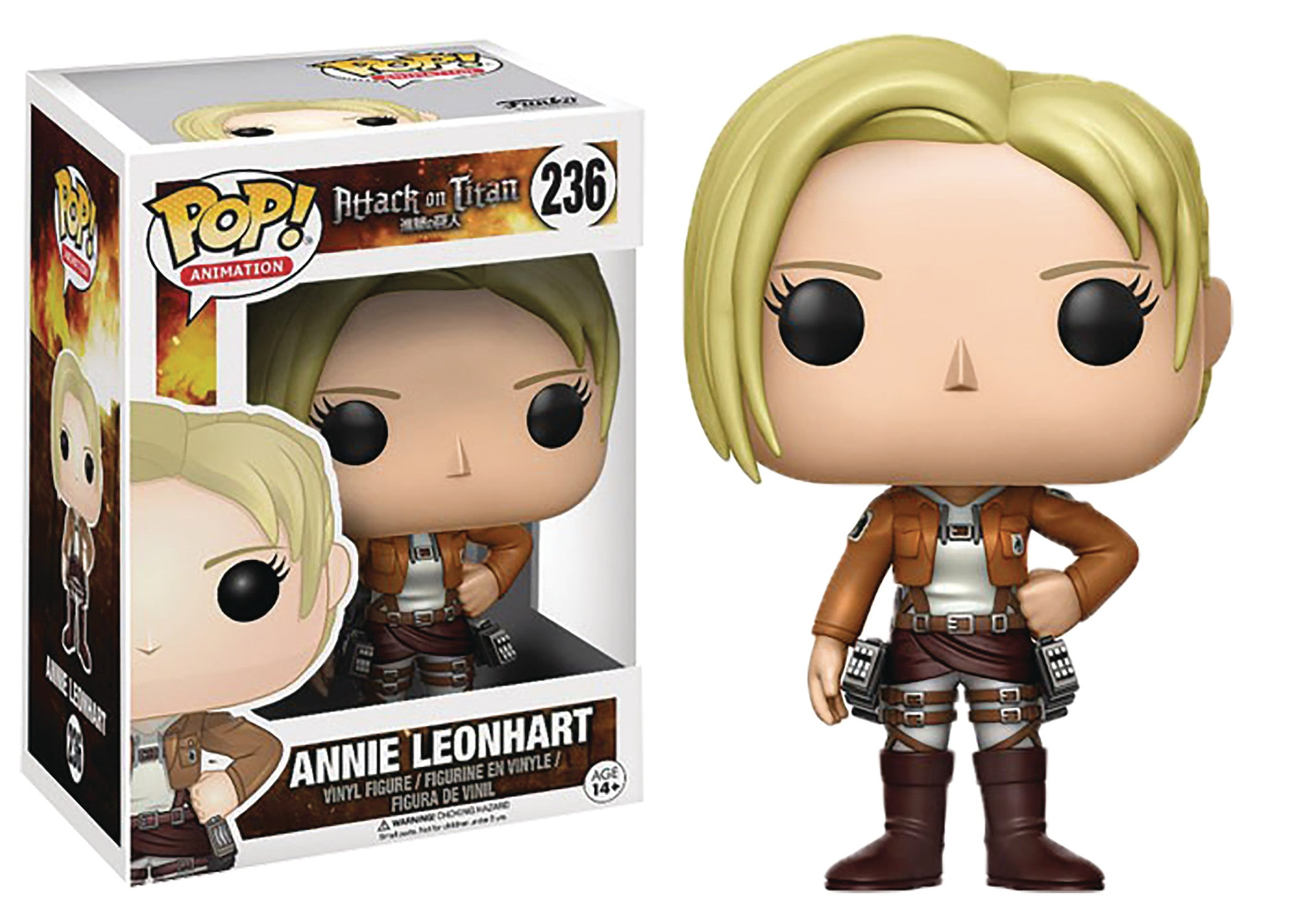 POP ATTACK ON TITAN ANNIE LEONHART VINYL FIG