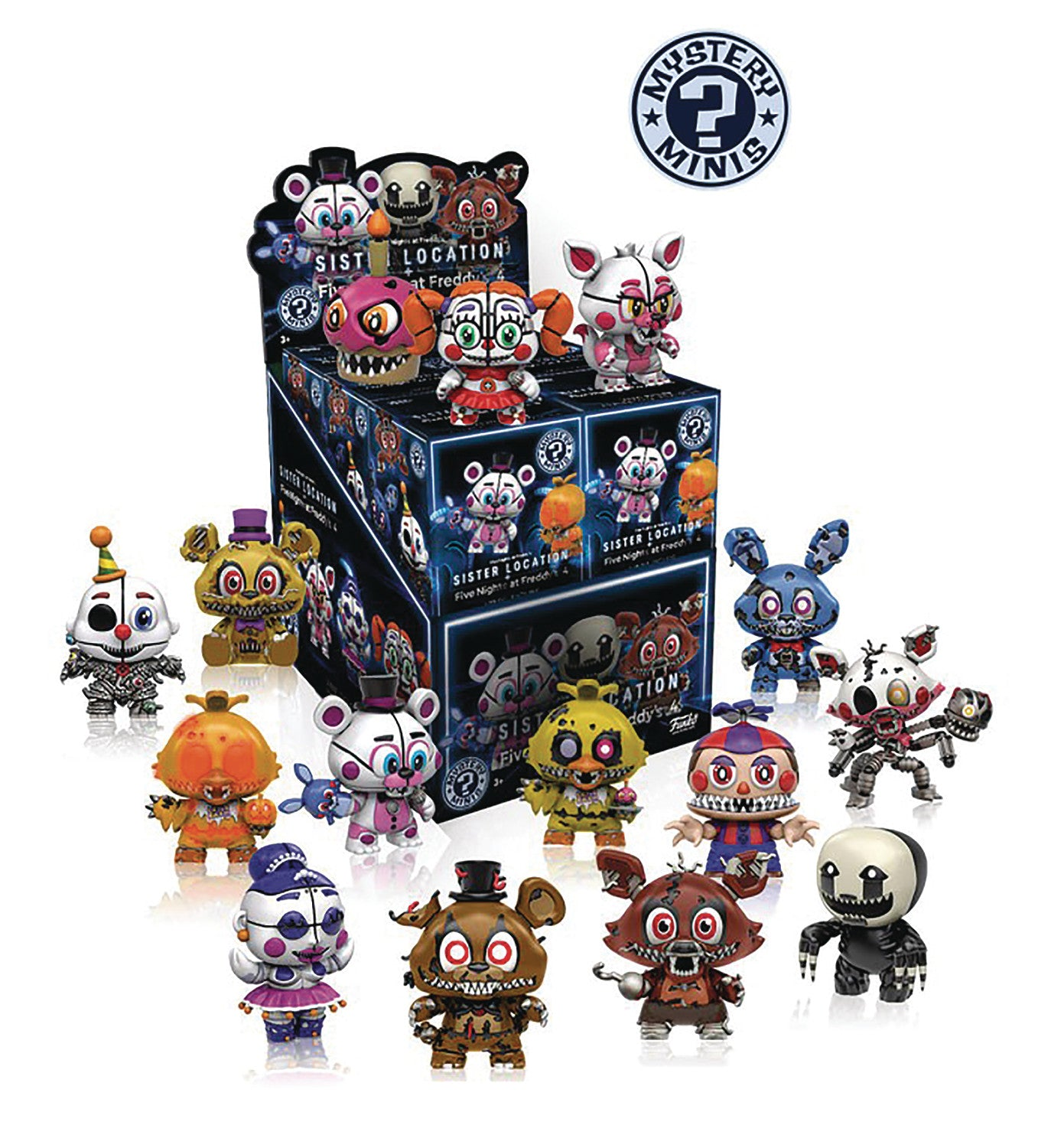 MYSTERY MINIS FIVE NIGHTS AT FREDDYS SER 2 12PC BMB DISP