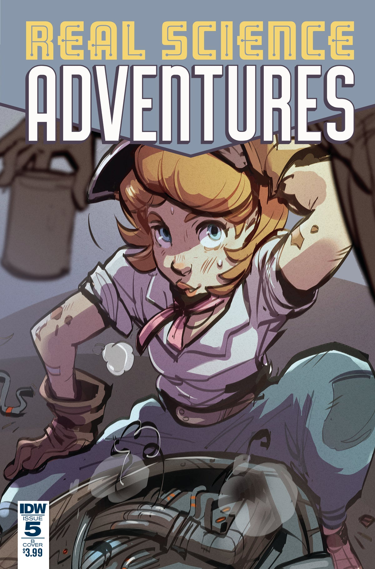 REAL SCIENCE ADVENTURES FLYING SHE-DEVILS #5