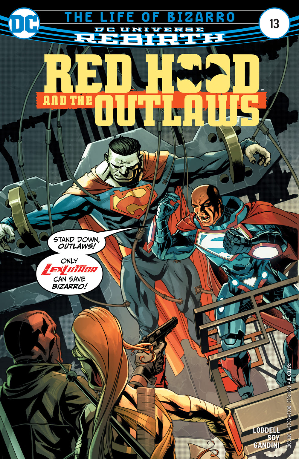 RED HOOD AND THE OUTLAWS #13