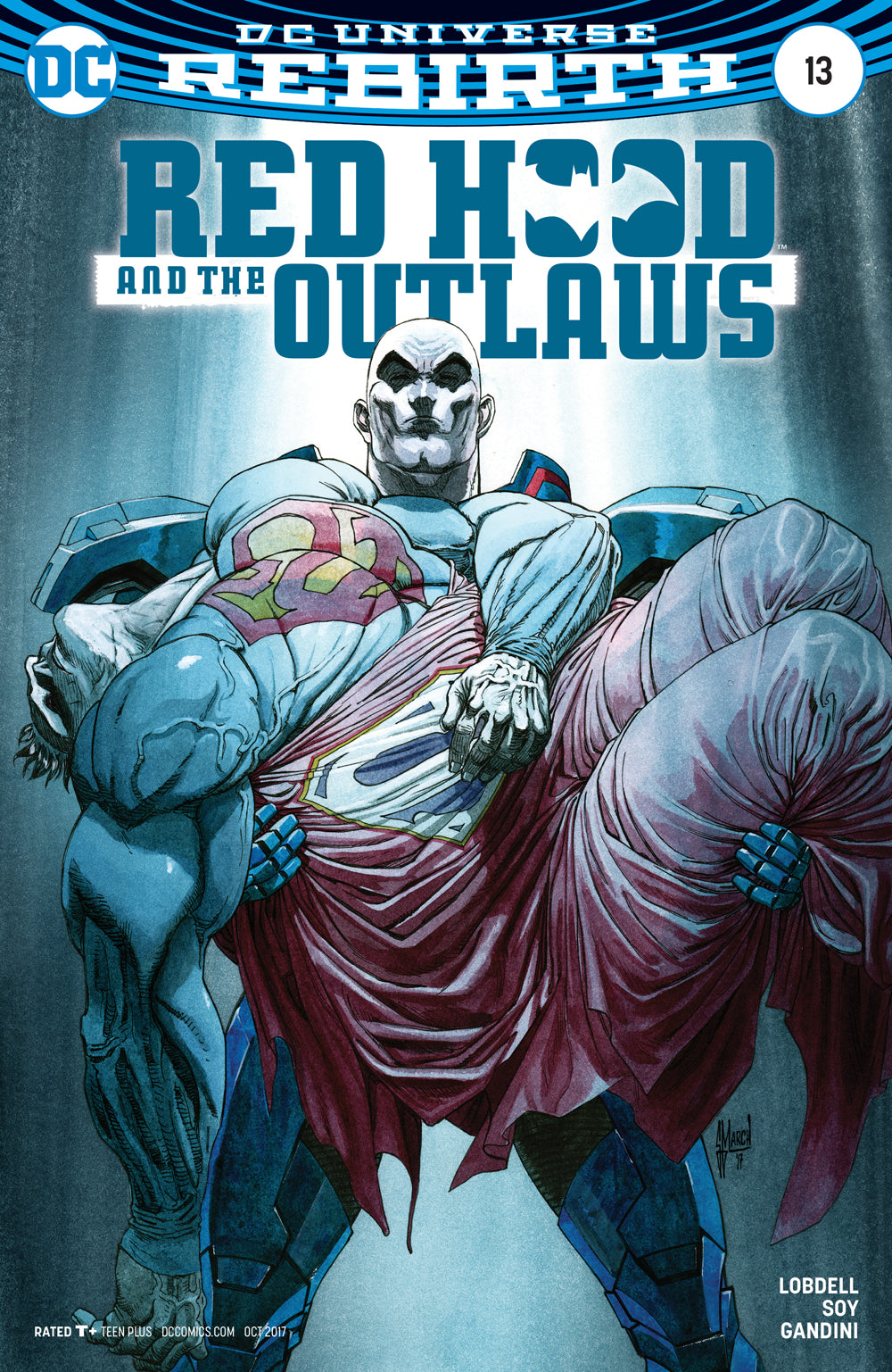 RED HOOD AND THE OUTLAWS #13 VAR ED