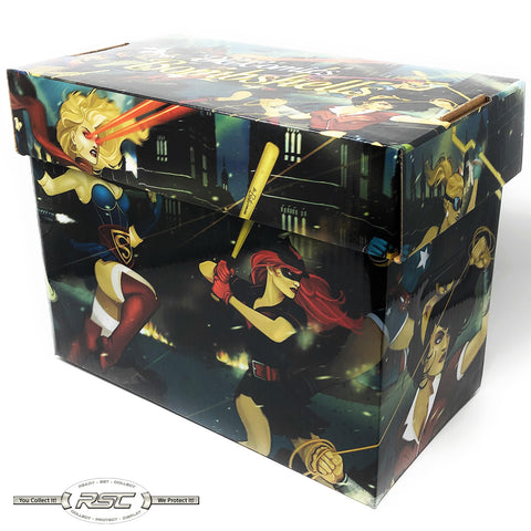 DC Bombshells Short Comic Box
