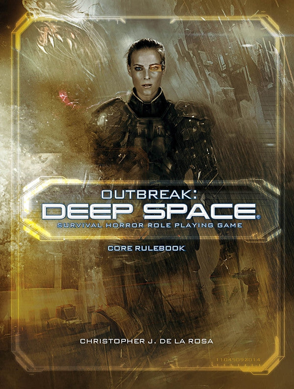 Outbreak: Deep Space Core Rulebook