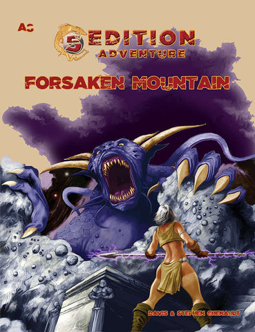 A8 5th Edition Adventure: Forsaken Mountain
