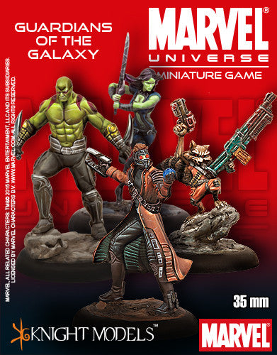 Marvel Miniature Game: Guardians Of The Galaxy Starter Crew